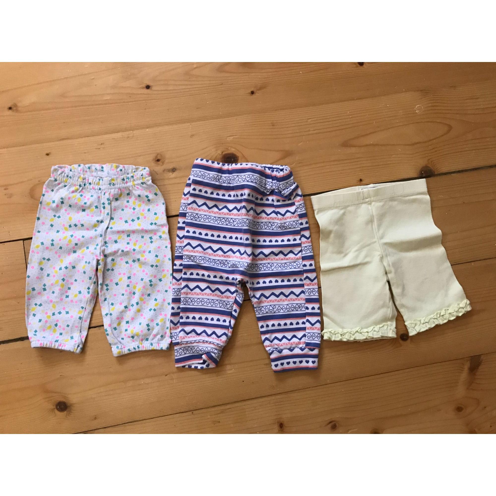 Pantalon MARQUE INCONNUE Jaune