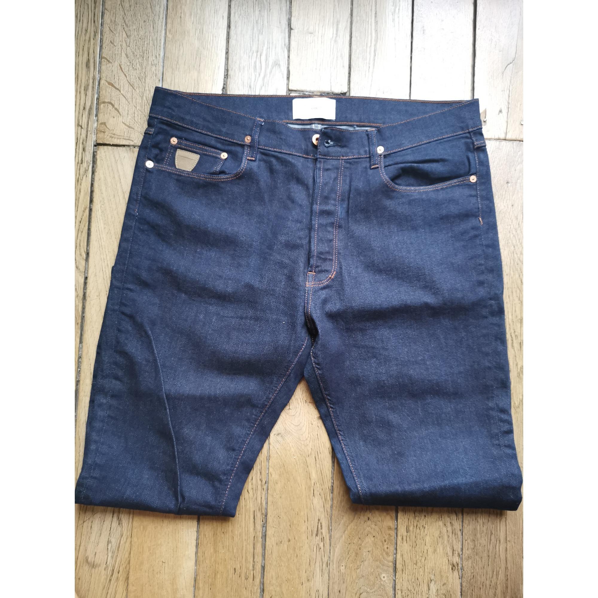 Jeans droit APRIL 77 Bleu, bleu marine, bleu turquoise