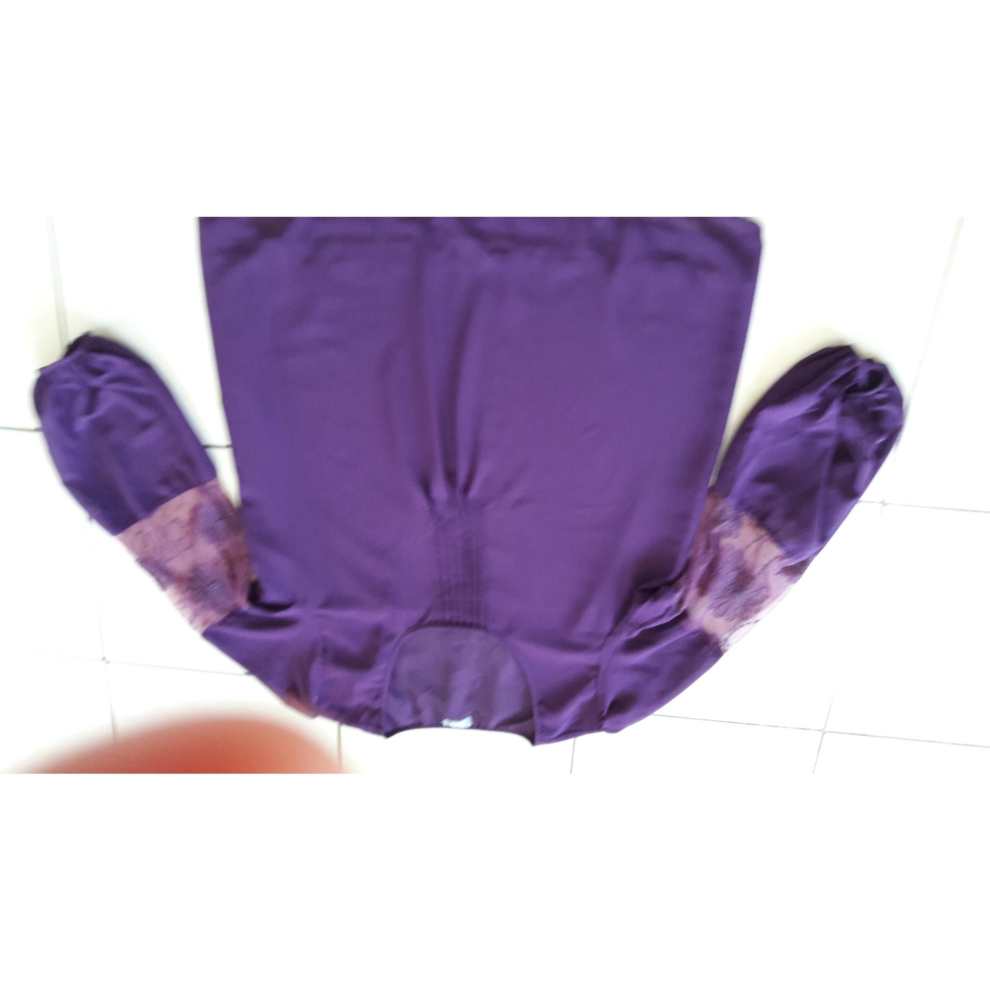 Tunique BLEU BONHEUR Violet, mauve, lavande