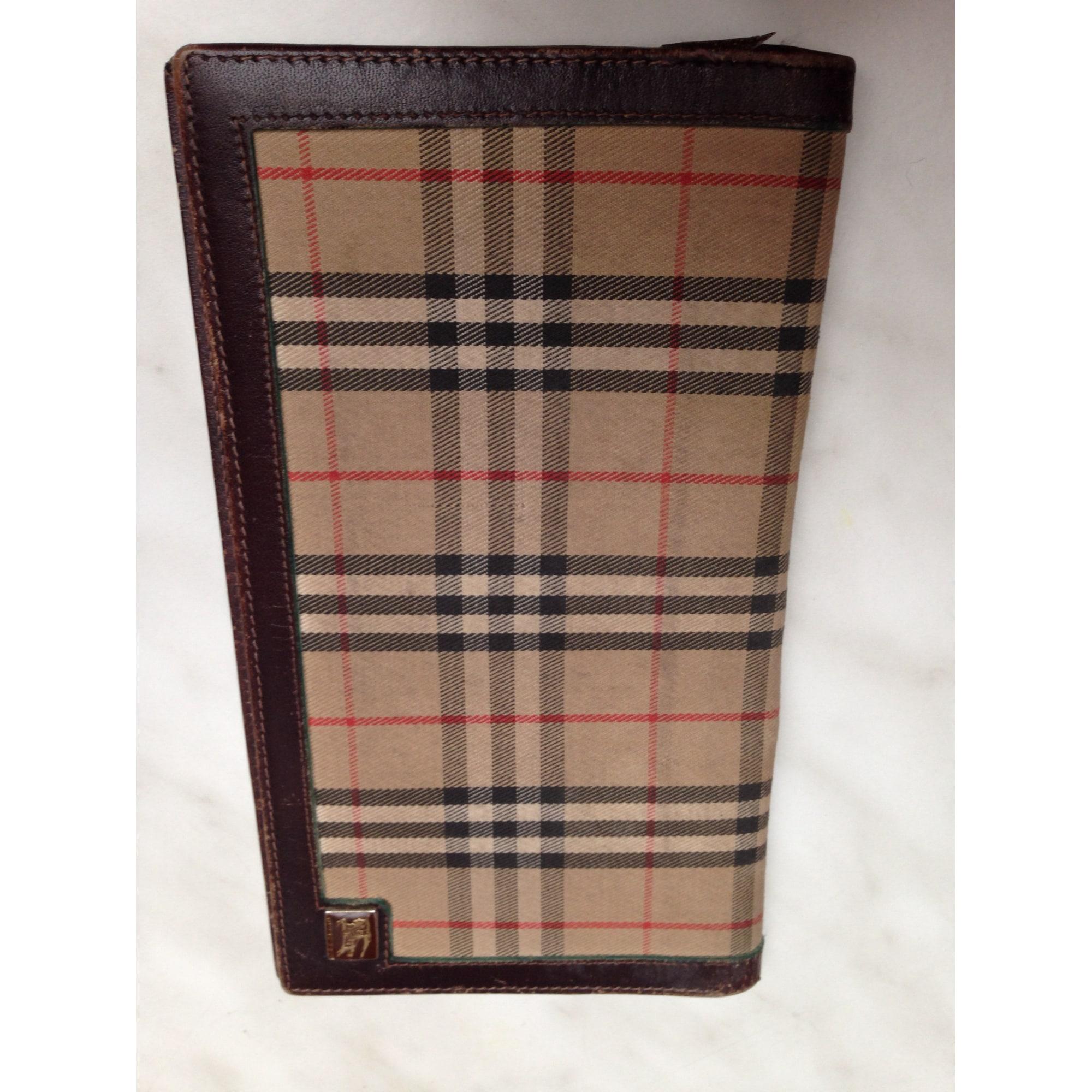 Porte-chéquier BURBERRY marron vendu par Blandine 73551384 - 3543906 56842ac39ed