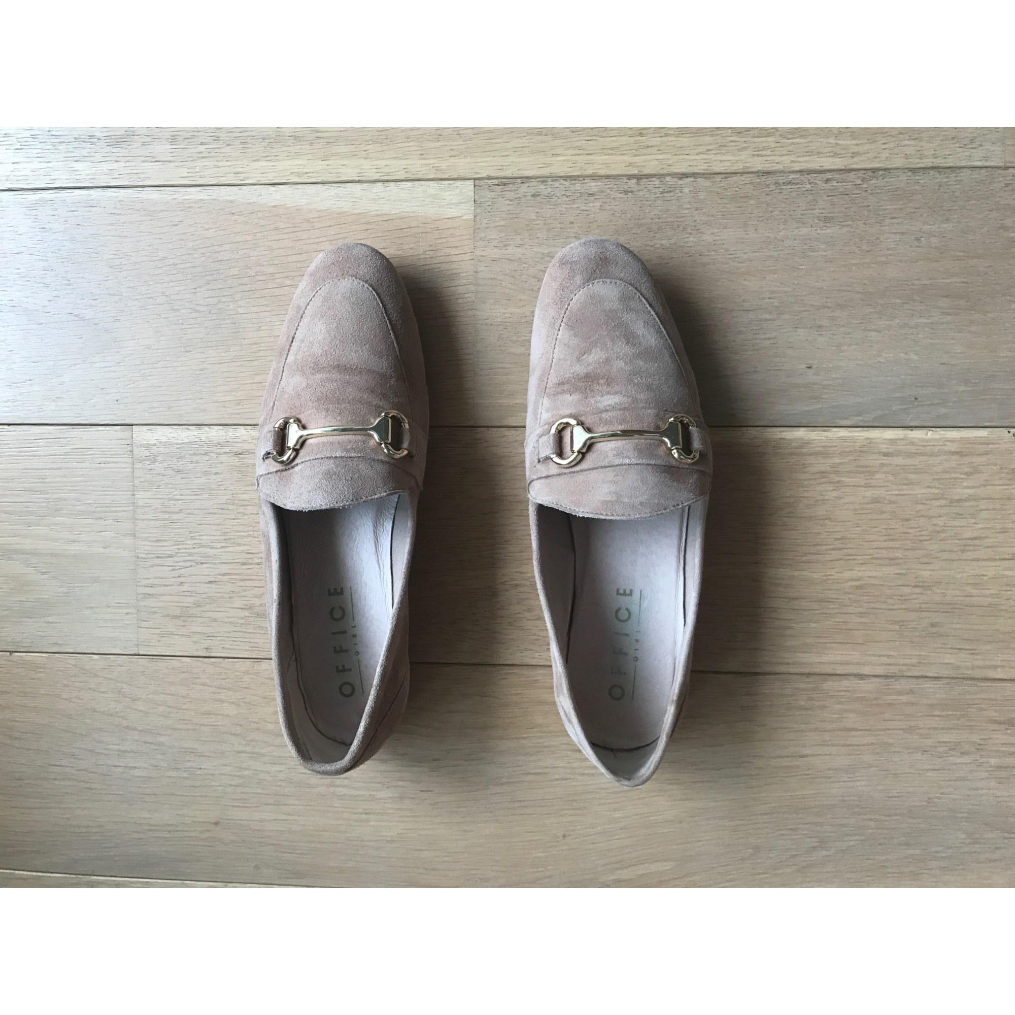Mocassins Office Shoes London Daim Rose 37 SkSJmV2C