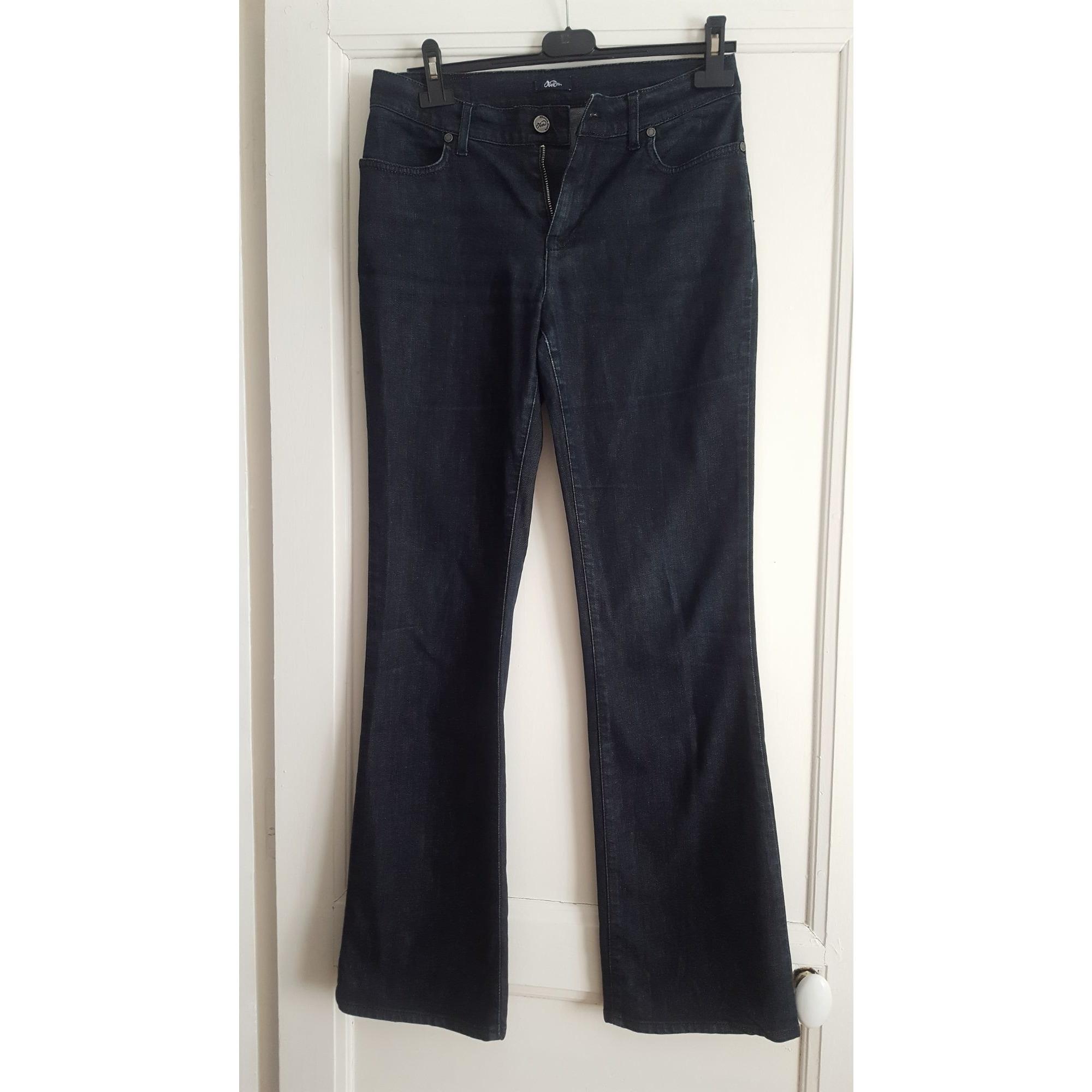Jeans évasé, boot-cut OBER Bleu, bleu marine, bleu turquoise