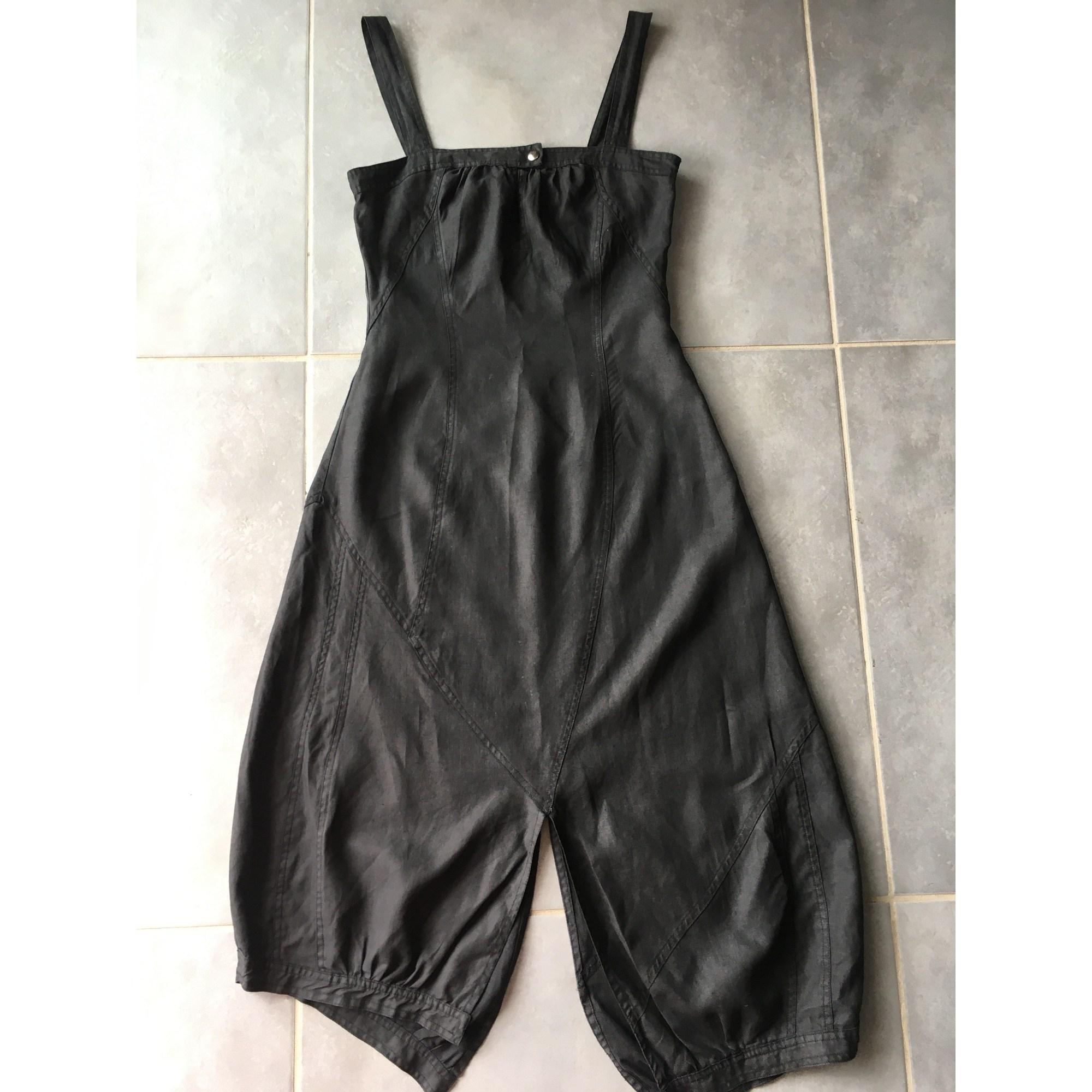 Robe mi-longue SARAH PACINI Noir