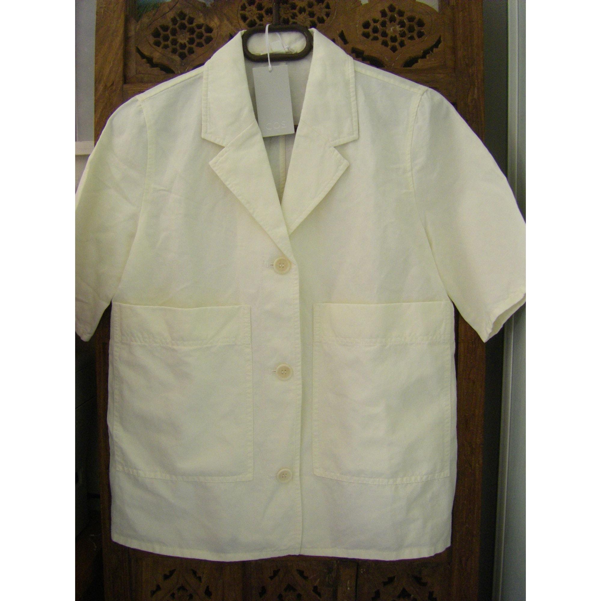 Veste COS Blanc, blanc cassé, écru