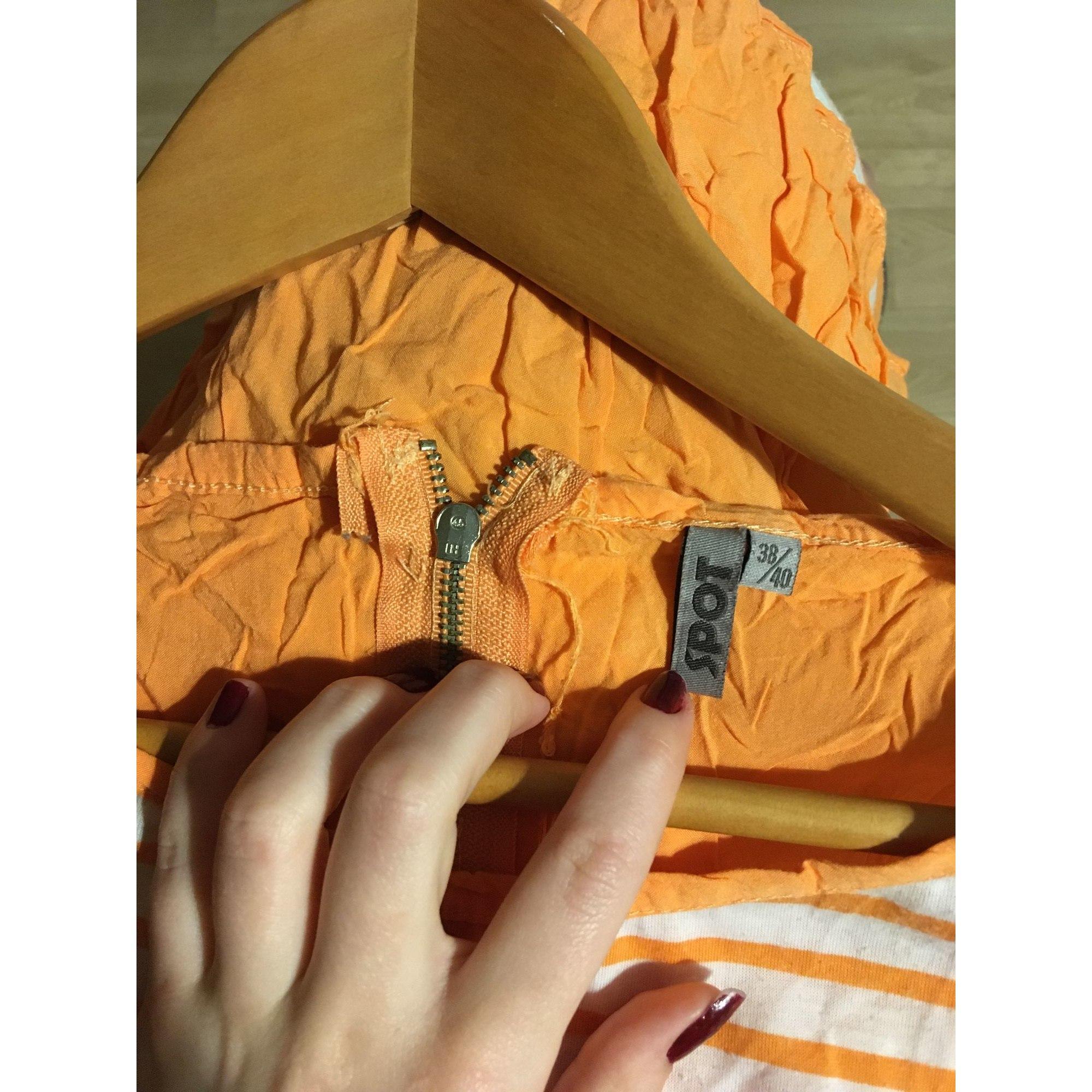 Top, tee-shirt SPOT Orange