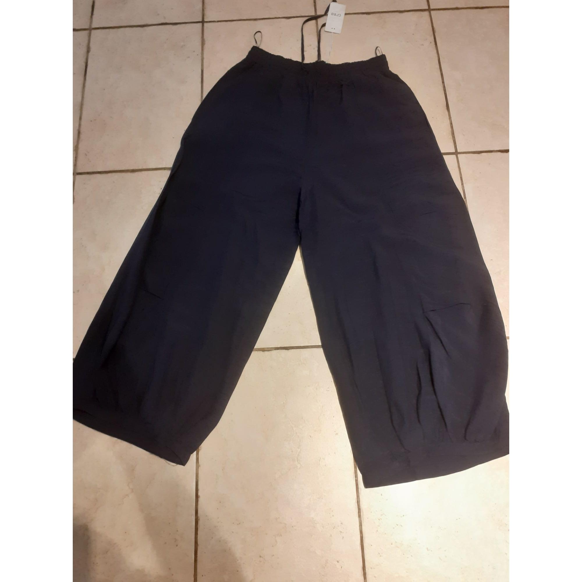 Pantalon large CREA CONCEPT Bleu, bleu marine, bleu turquoise