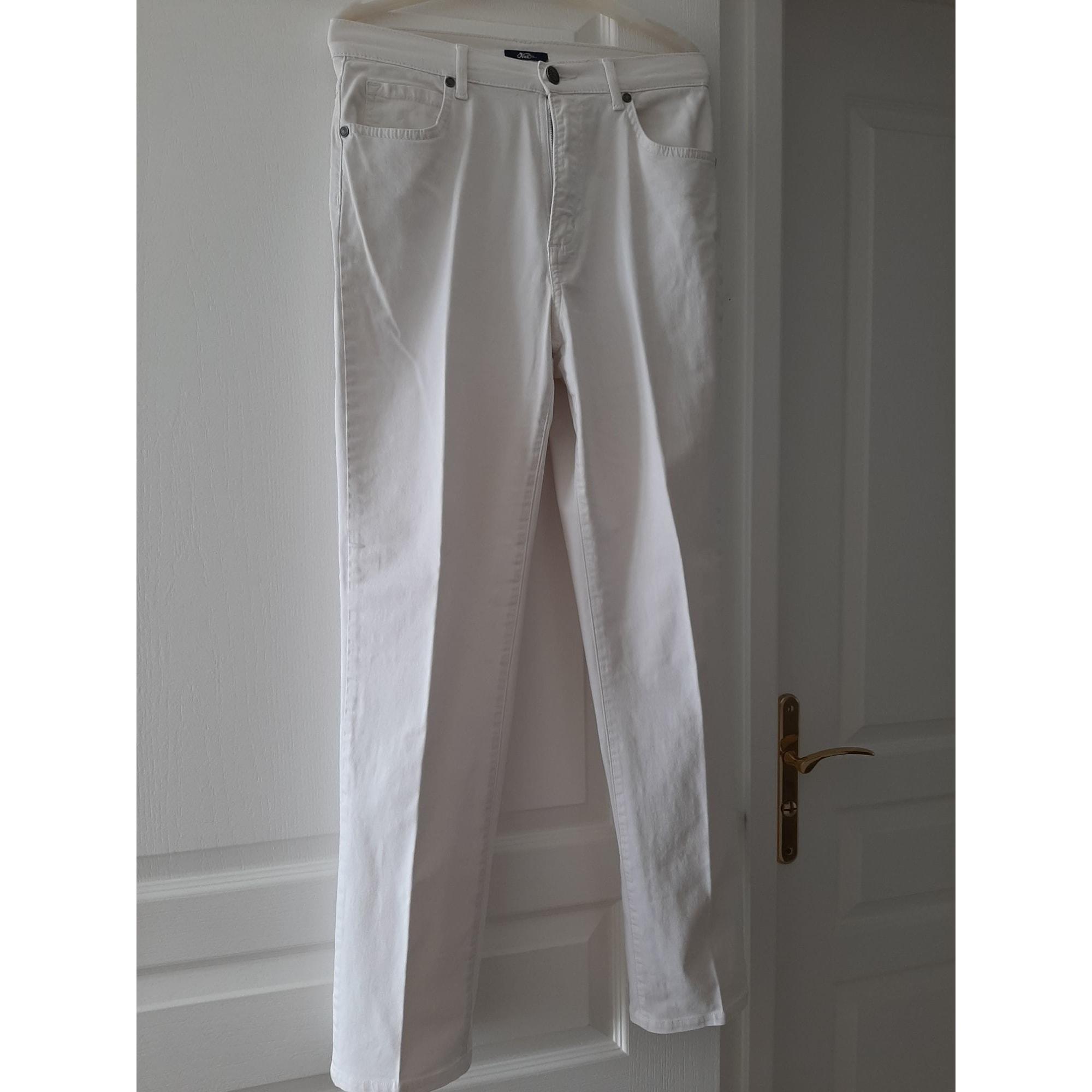 Pantalon droit OBER Blanc, blanc cassé, écru