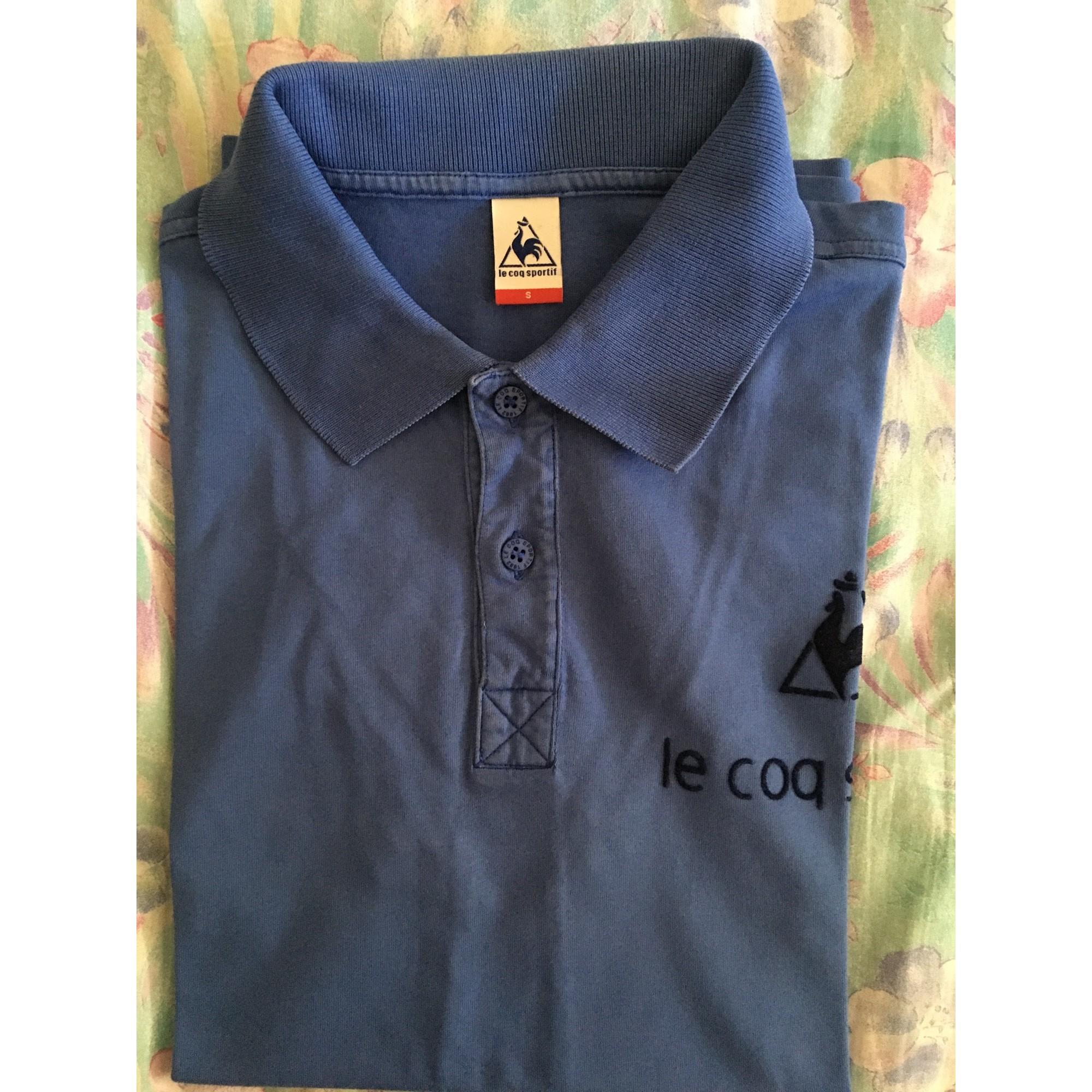 Polo LE COQ SPORTIF Bleu, bleu marine, bleu turquoise