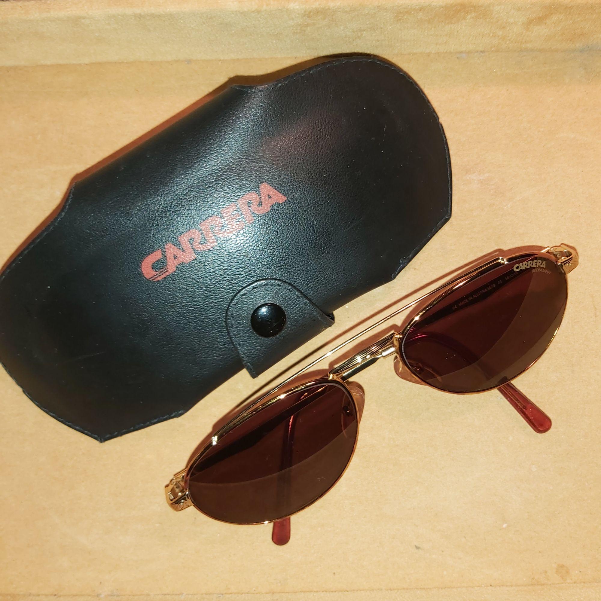 Eyeglass Frames CARRERA gold