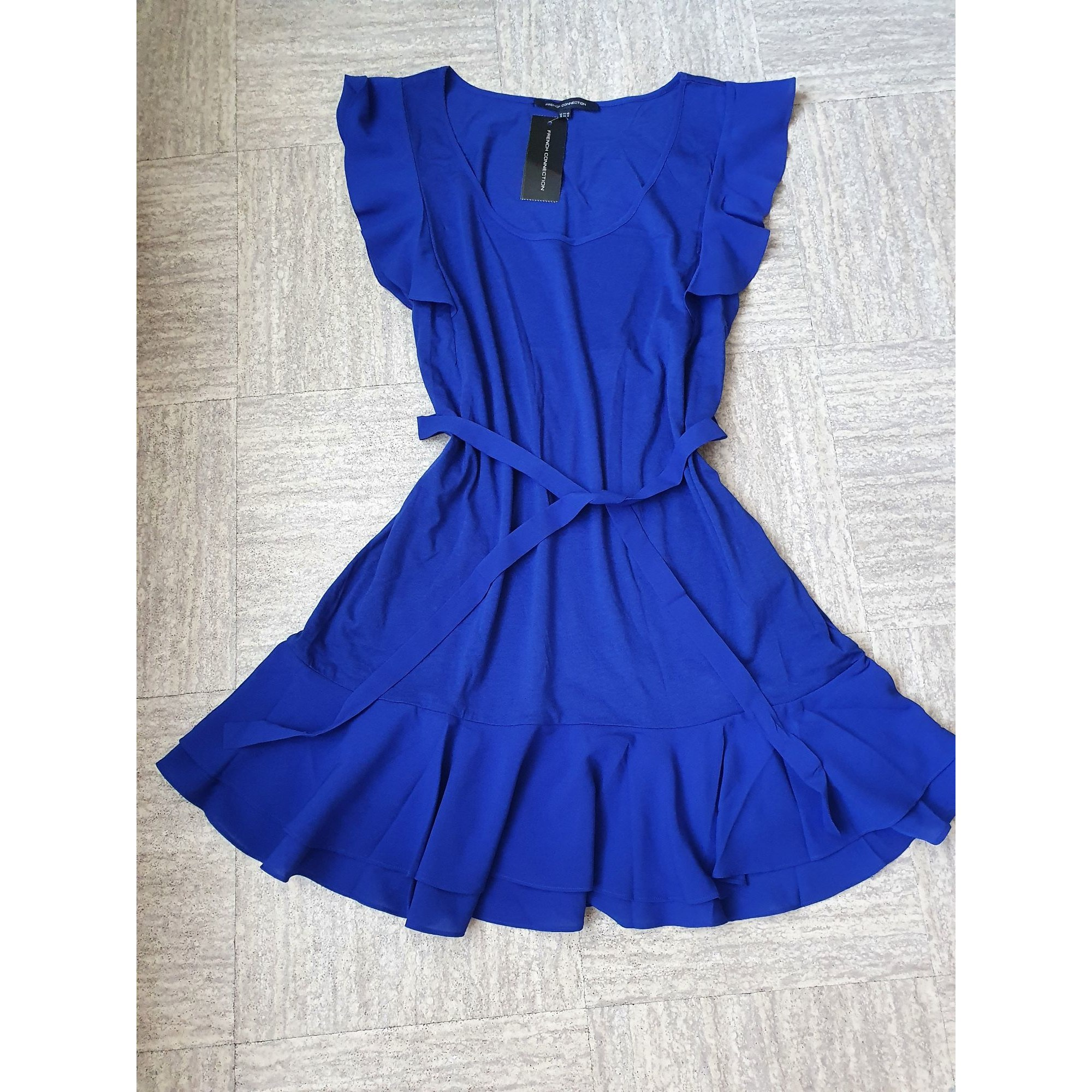 Robe mi-longue FRENCH CONNECTION Bleu, bleu marine, bleu turquoise