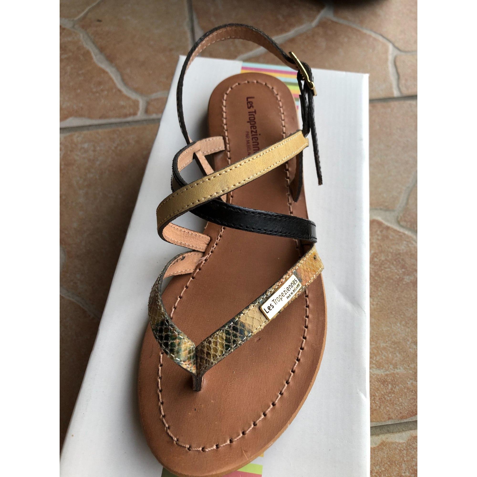 Sandales plates  LES TROPÉZIENNES PAR M. BELARBI Multicouleur