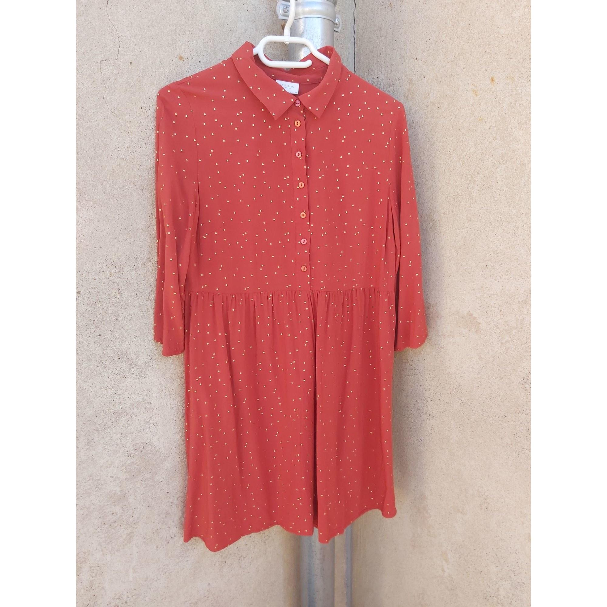 Robe courte VILA Orange