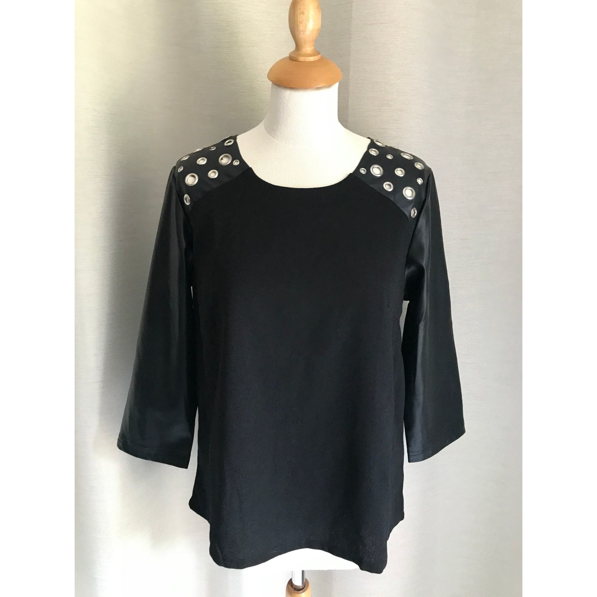 Top, tee-shirt BY JOOS Noir