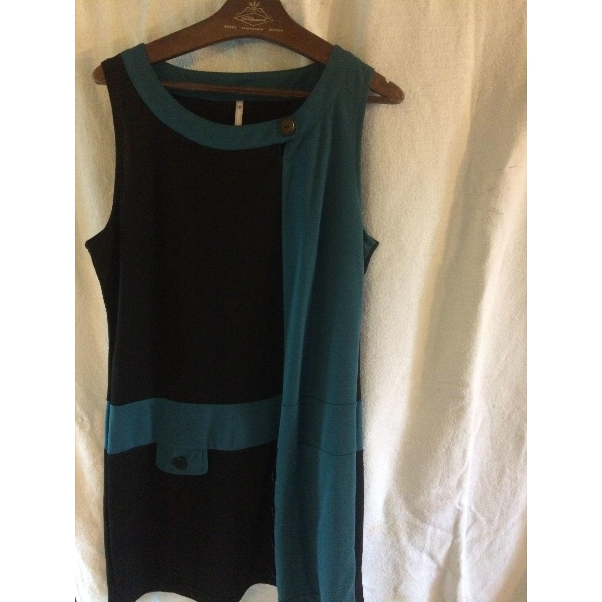 Robe tunique BLANCHEPORTE Bleu, bleu marine, bleu turquoise