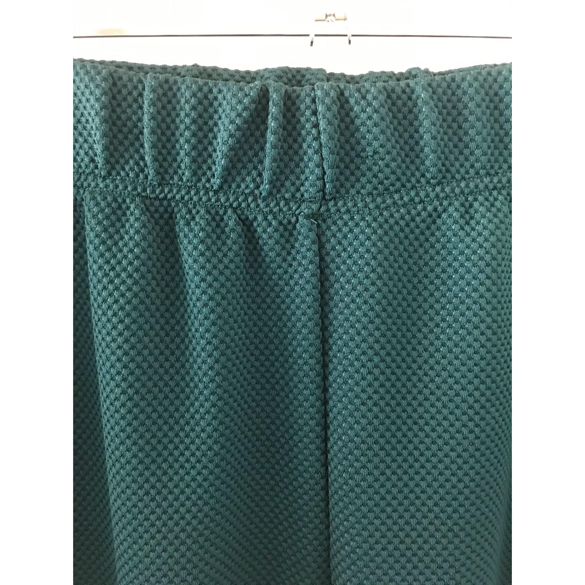 Pantalon slim, cigarette ASOS Vert
