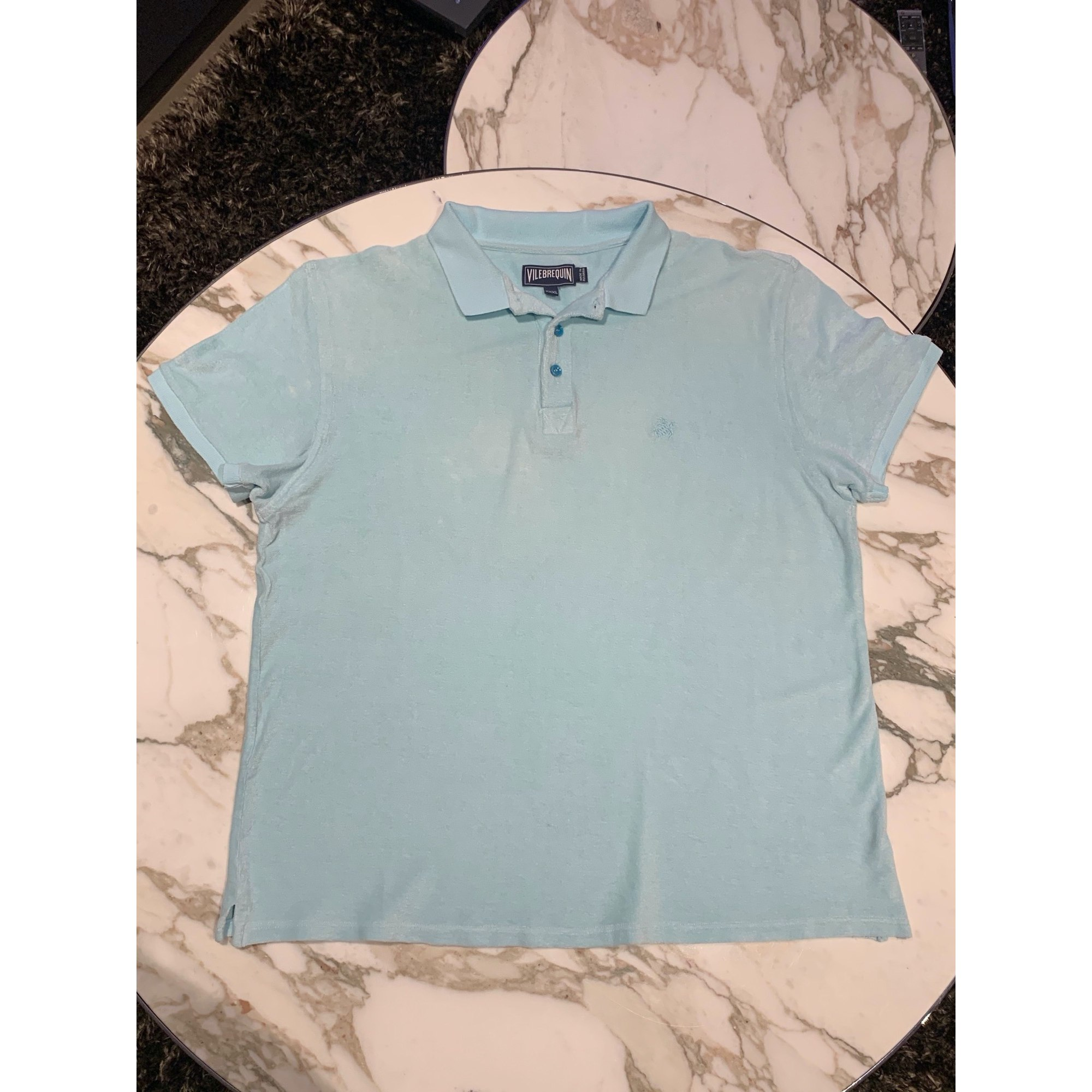 Polo VILEBREQUIN Bleu, bleu marine, bleu turquoise