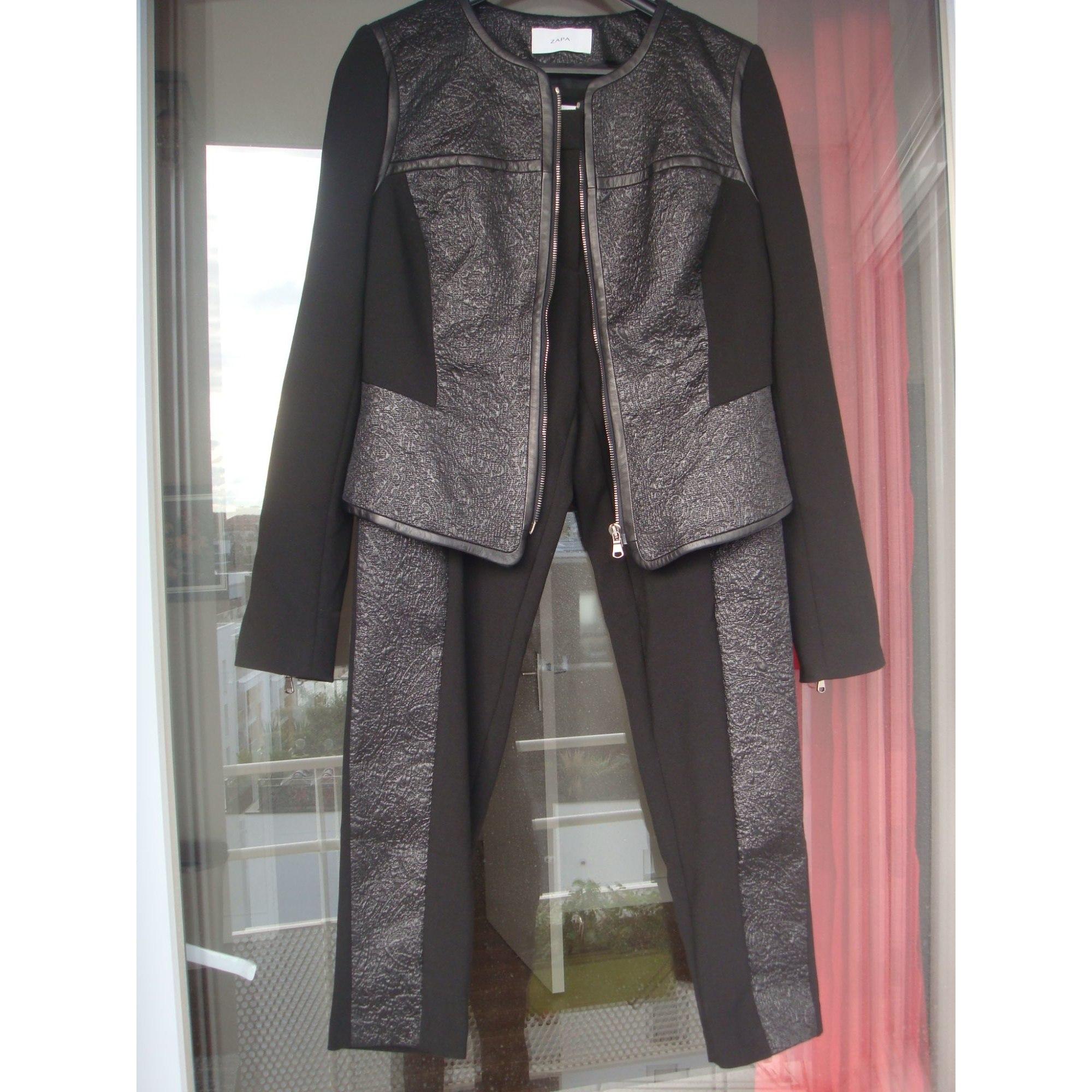 Tailleur pantalon ZAPA Noir