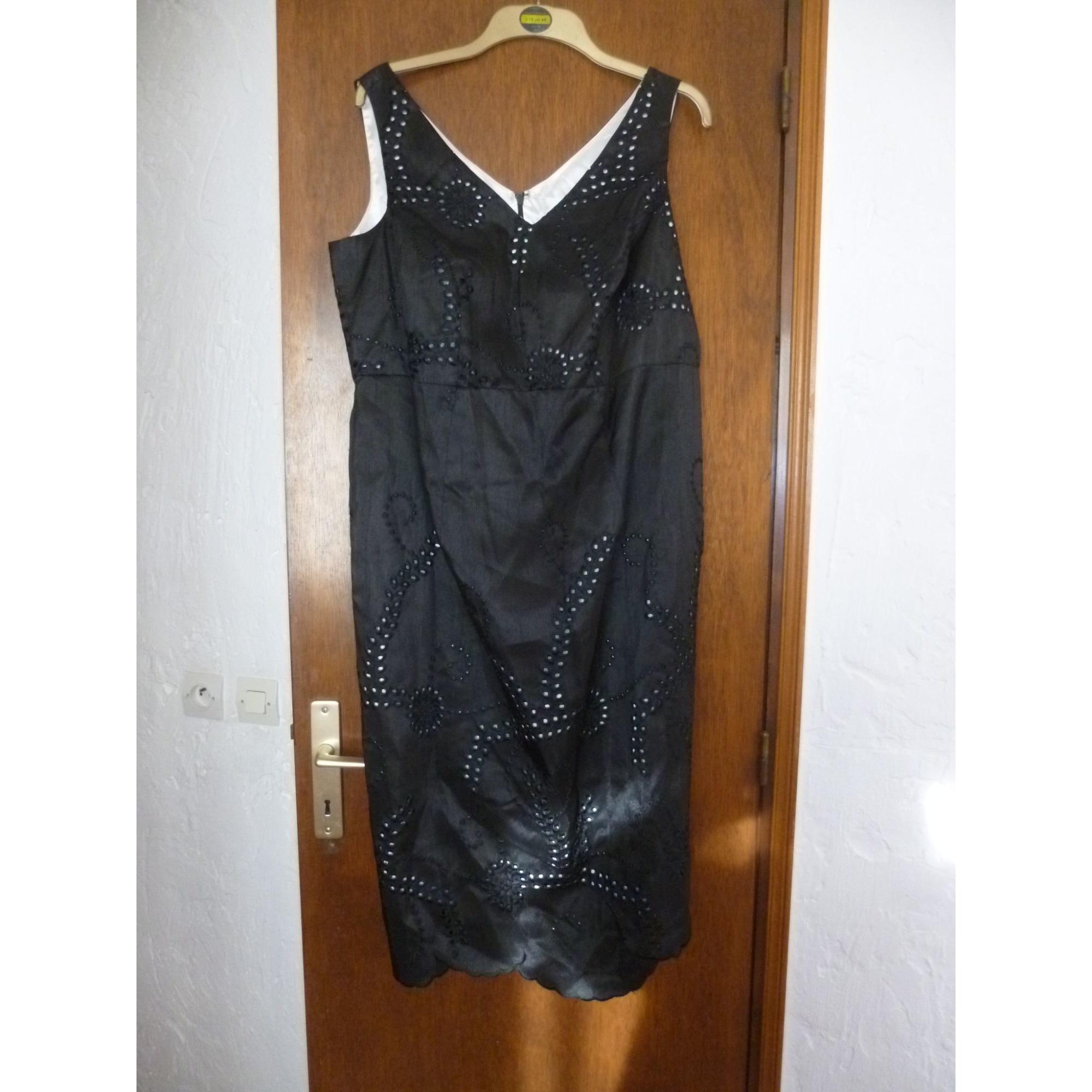 Robe mi-longue ANN HARVEY Noir