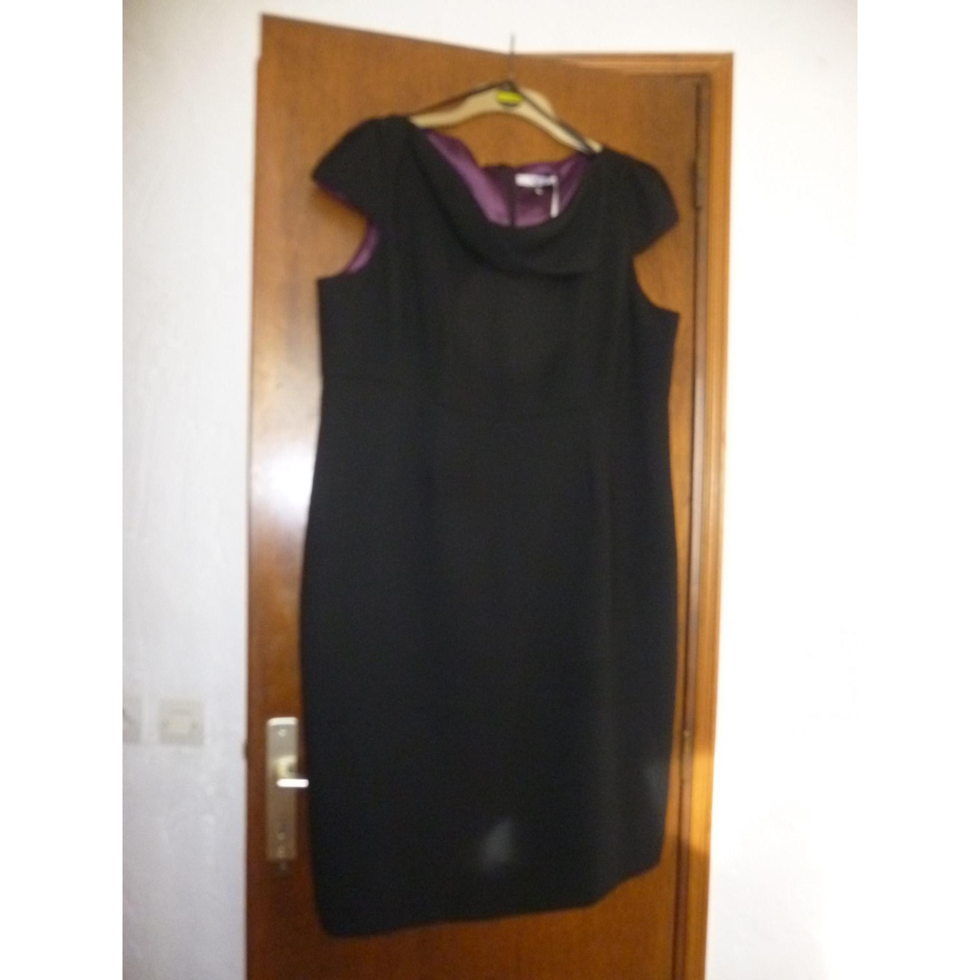 Robe mi-longue SOPHIE GRAY Noir