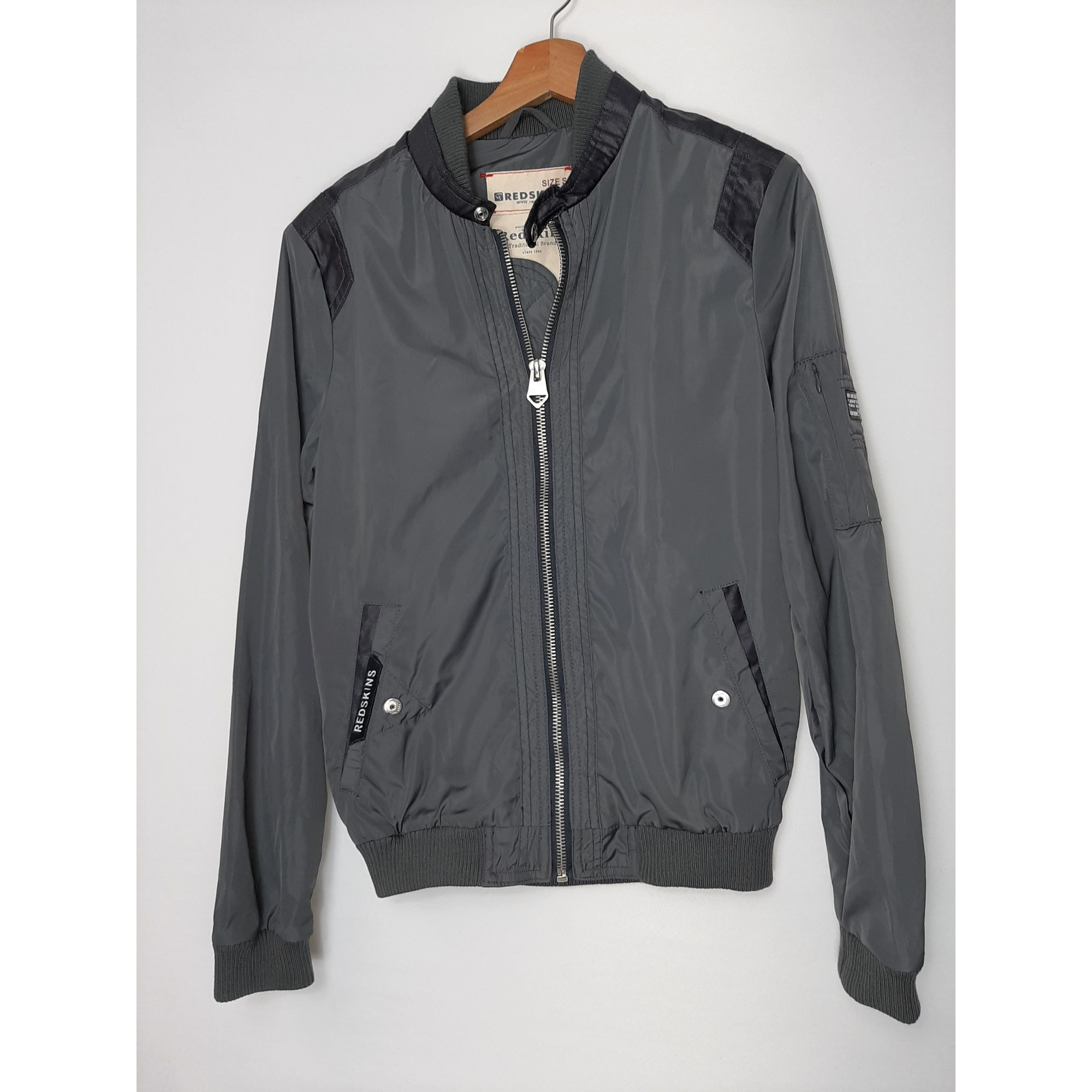 Veste REDSKINS Gris, anthracite
