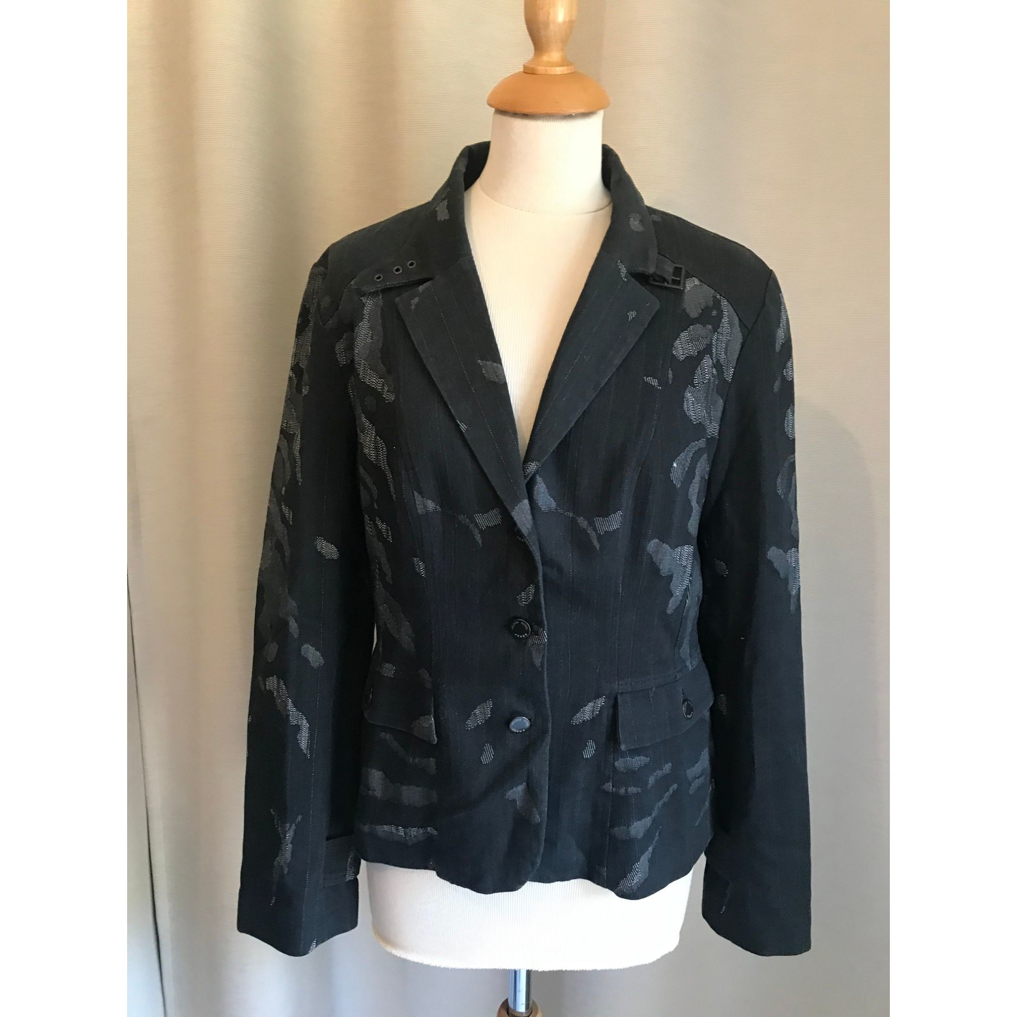 Blazer, veste tailleur HELENA SOREL Gris, anthracite
