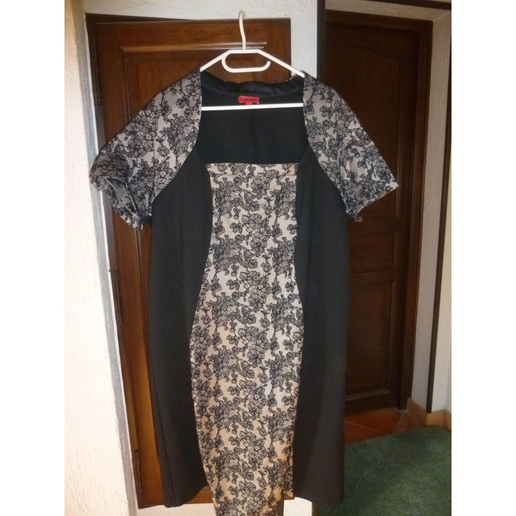 Robe mi-longue COLLEEN NOLAN Noir
