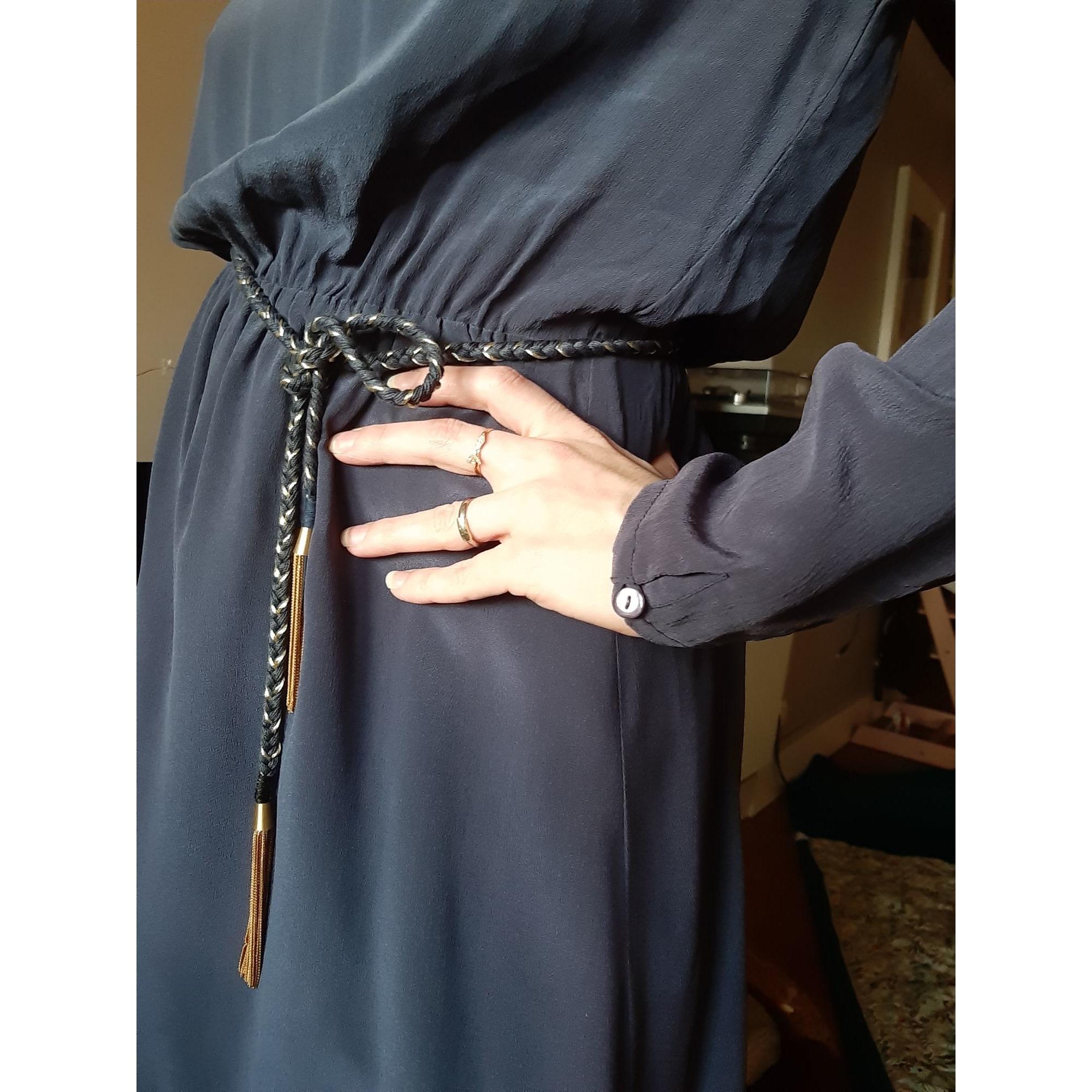 Robe mi-longue PETITE MENDIGOTE Bleu, bleu marine, bleu turquoise