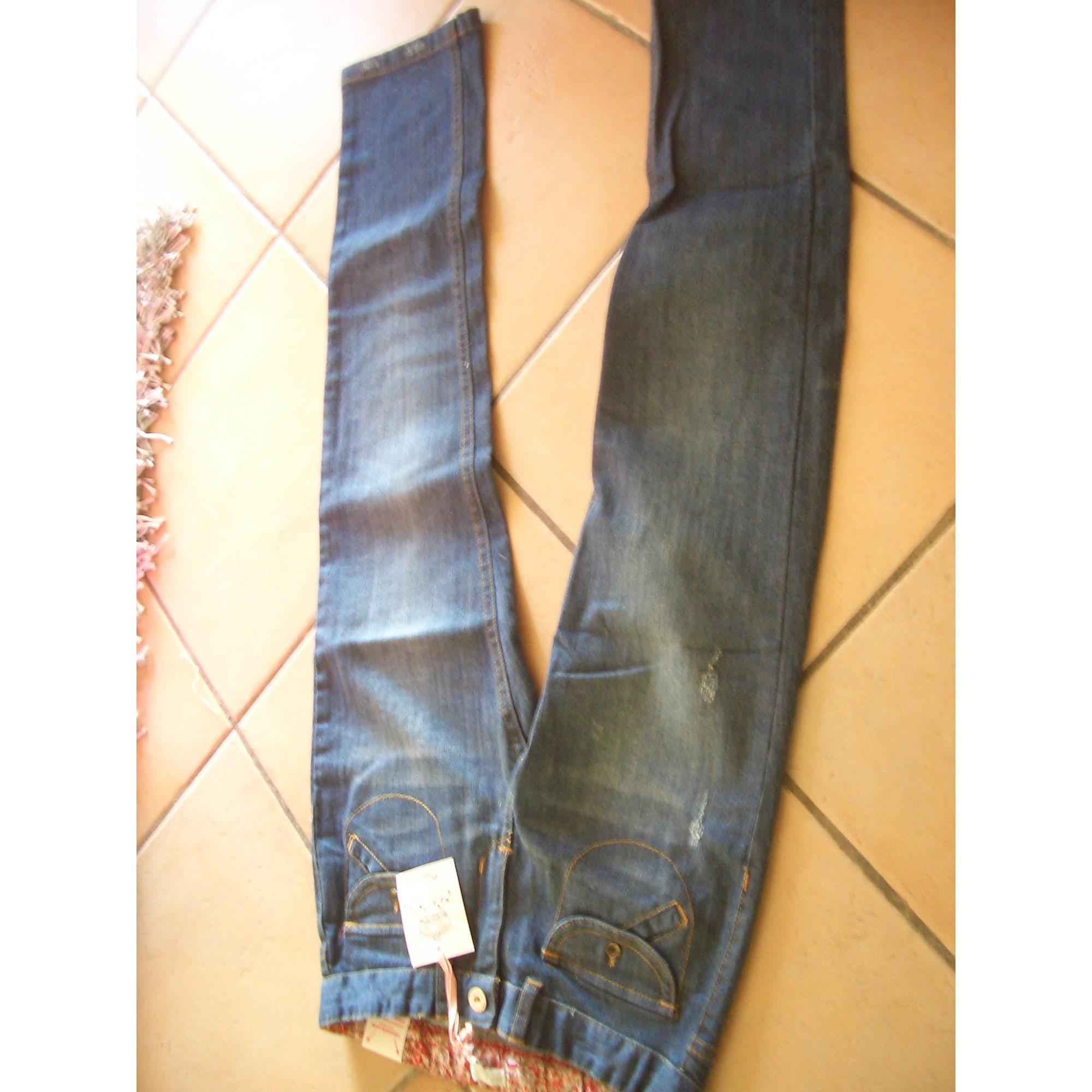 Jeans droit NAF NAF Bleu, bleu marine, bleu turquoise