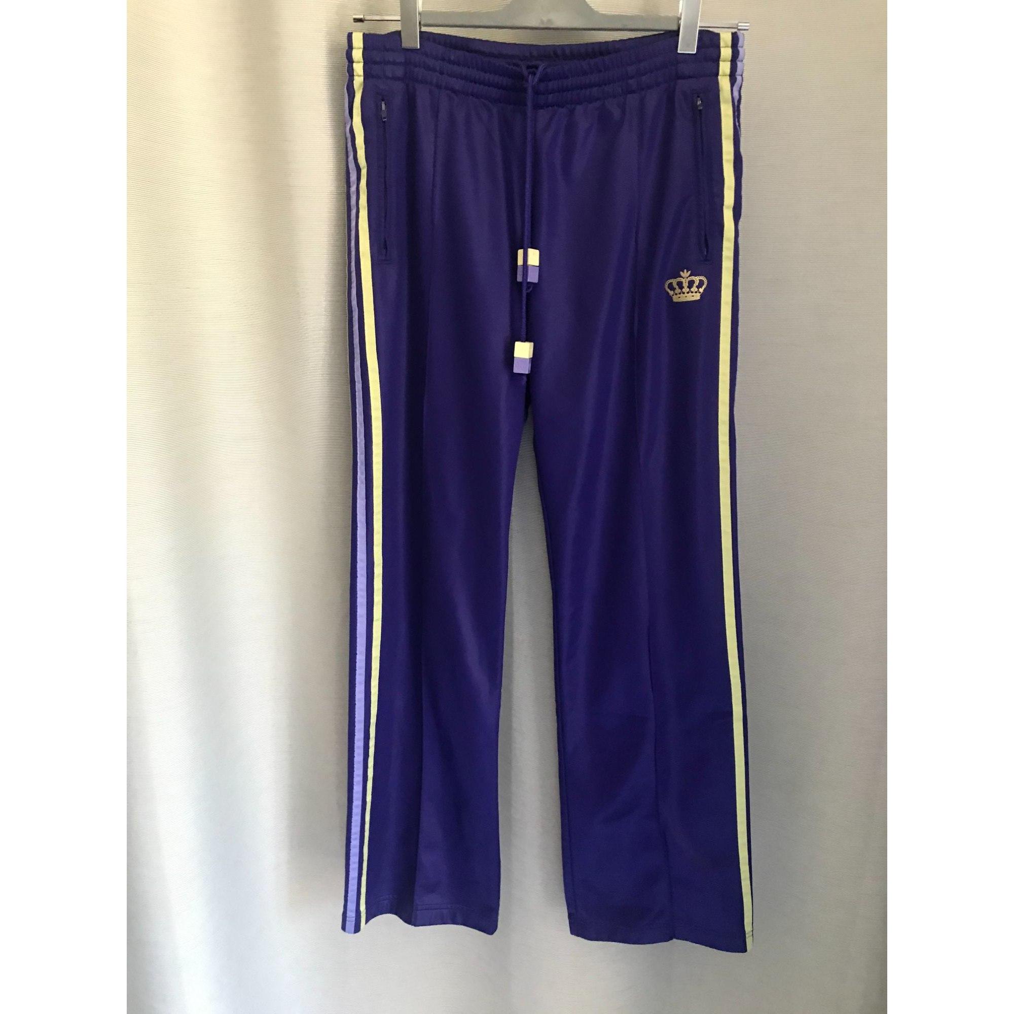 Pantalon de survêtement ADIDAS Violet, mauve, lavande