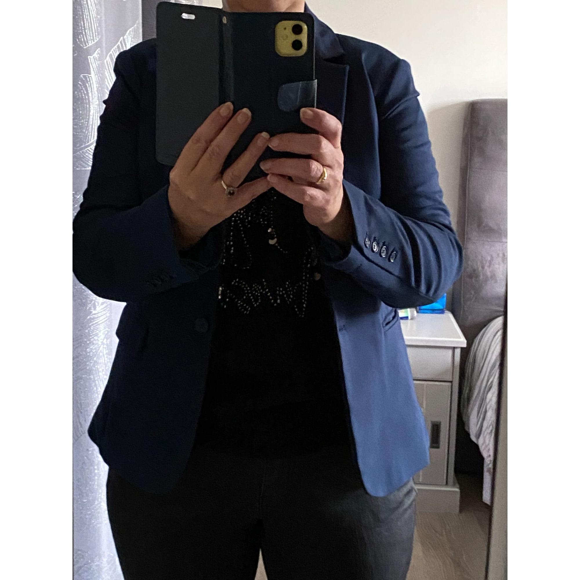 Veste PROMOD Bleu, bleu marine, bleu turquoise
