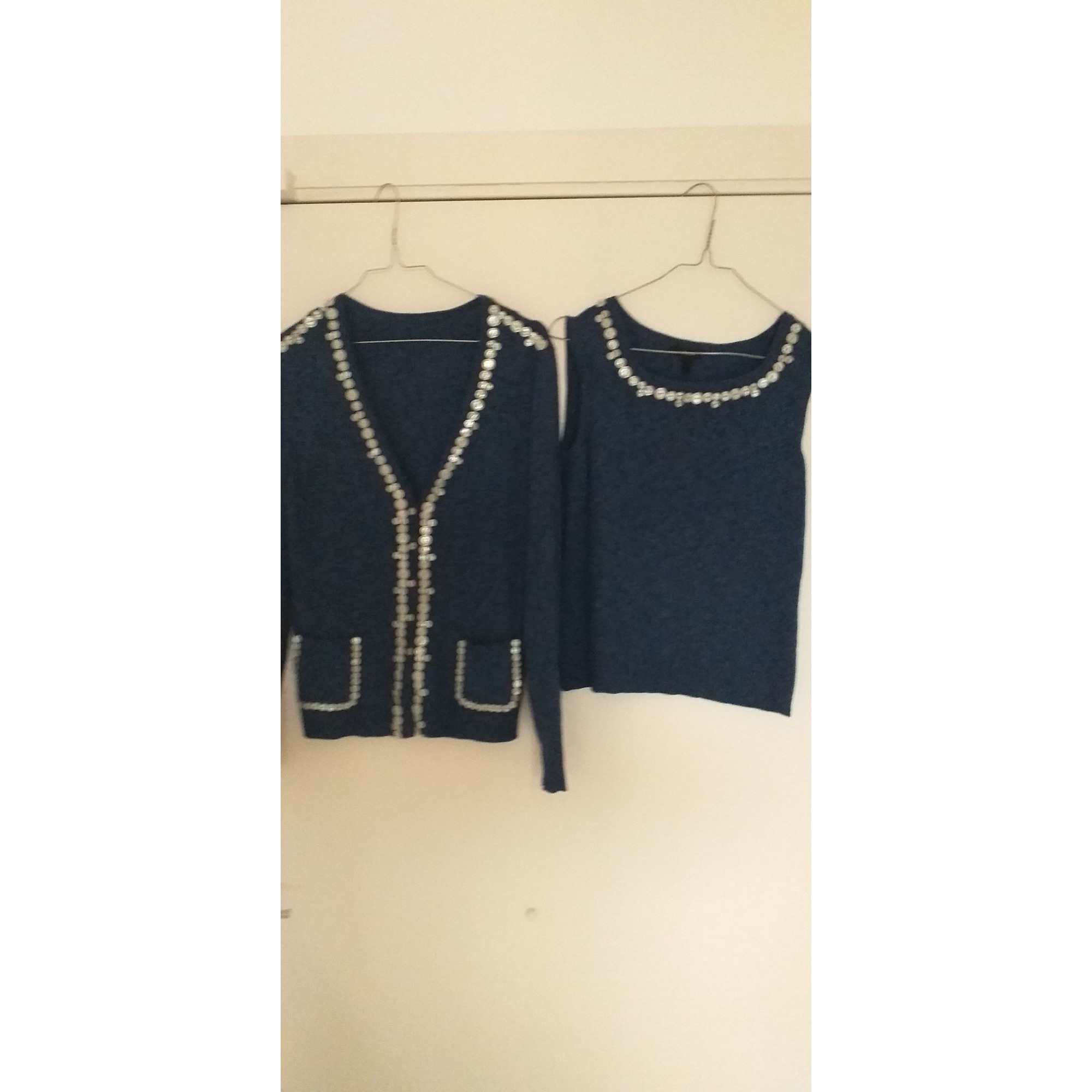 Twin set ESCADA Bleu, bleu marine, bleu turquoise