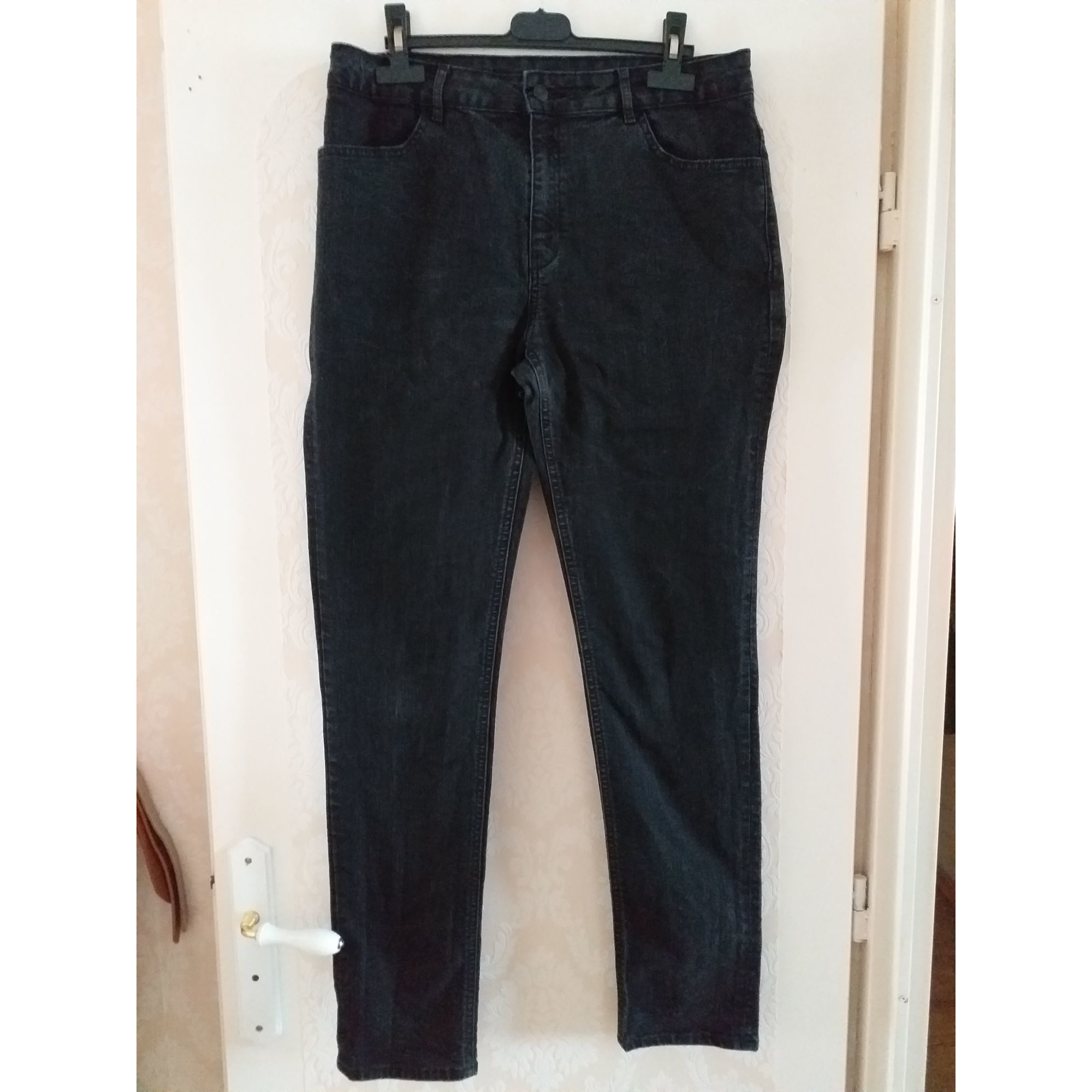 Jeans slim KIABI Noir
