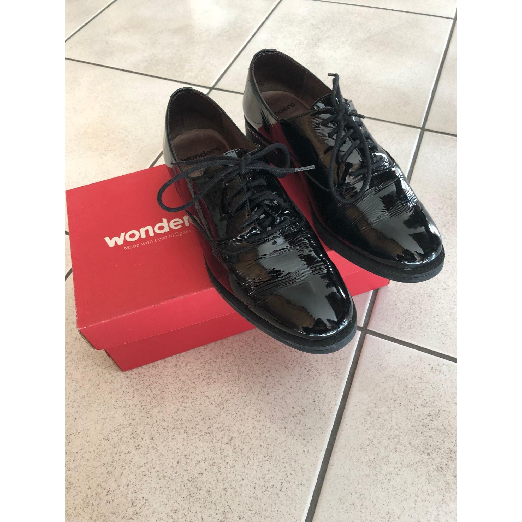 Chaussures à lacets  WONDERS Noir