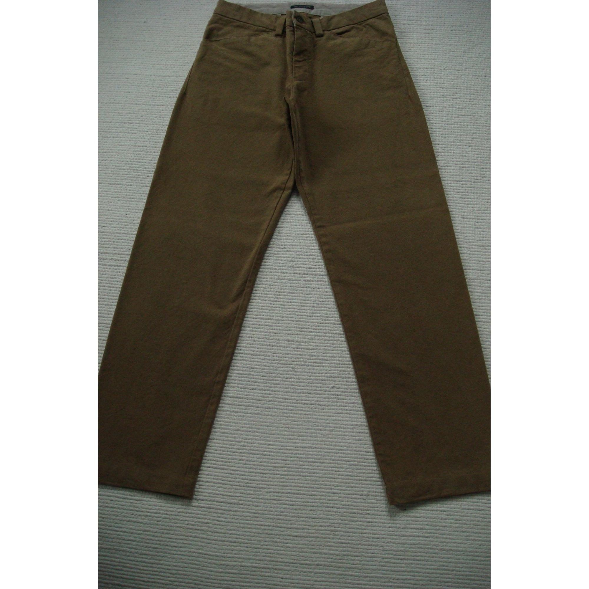 Wide Leg Pants DOCKERS Brown
