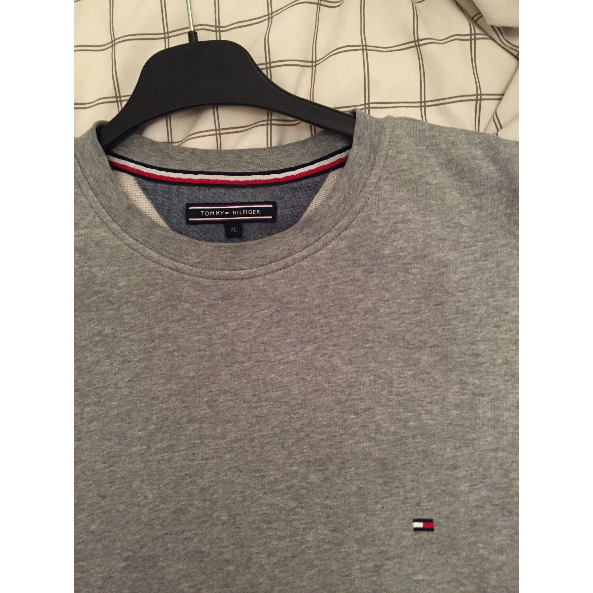Pull TOMMY HILFIGER Gris, anthracite