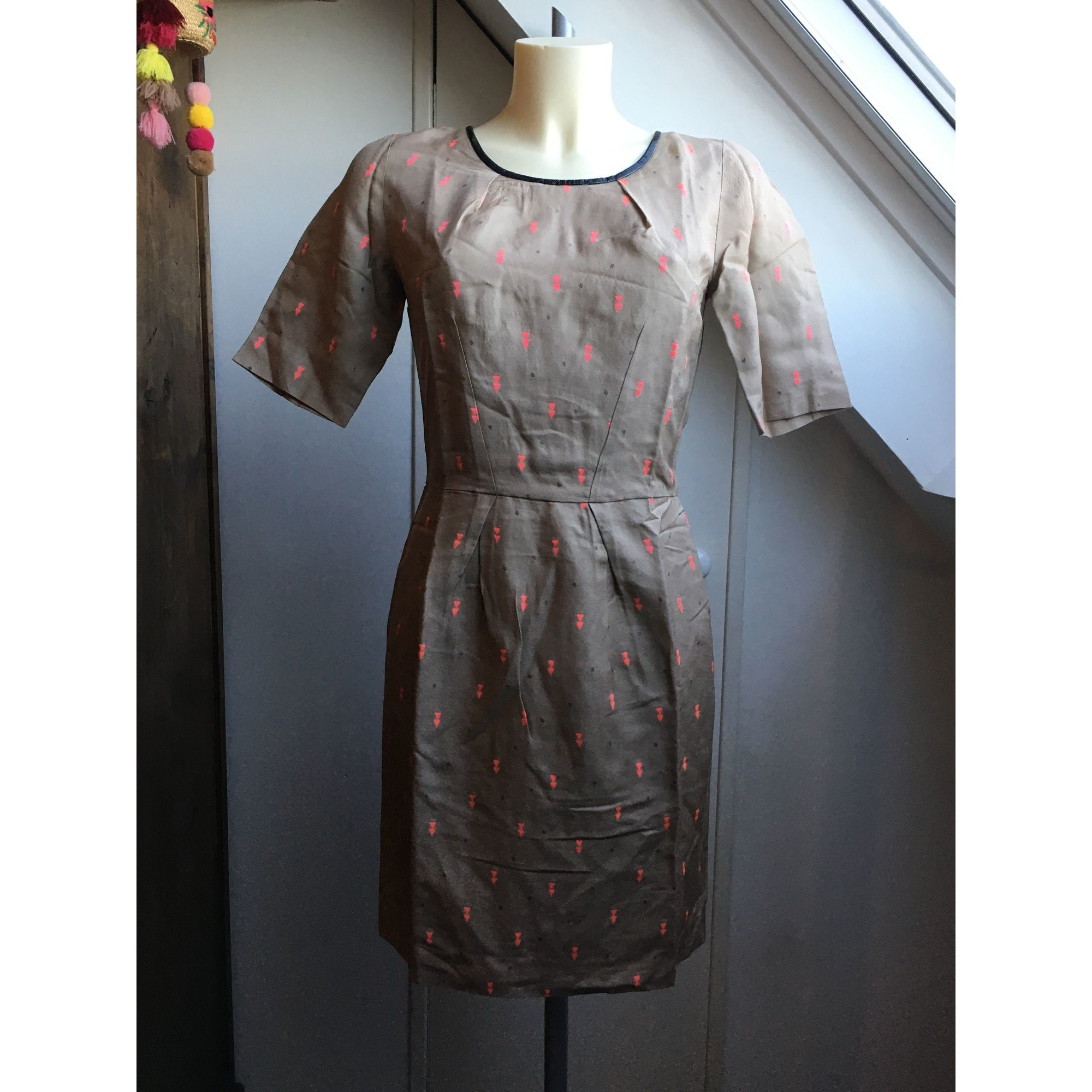 Robe courte CHATTAWAK Multicouleur