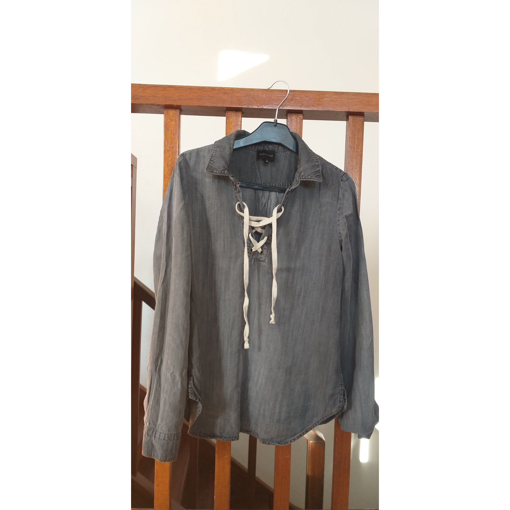 Blouse BERENICE Gris, anthracite