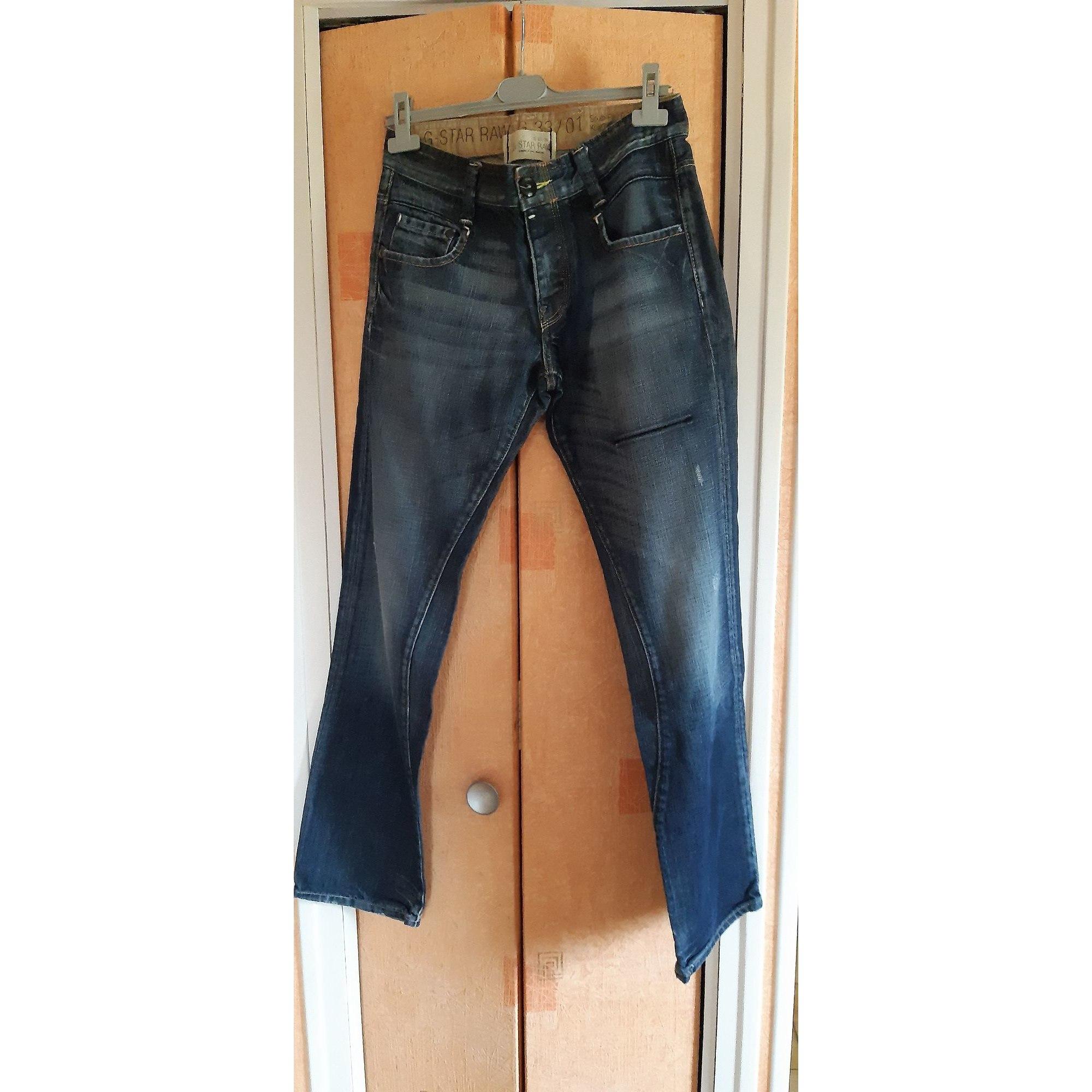 Jeans droit G-STAR Bleu, bleu marine, bleu turquoise
