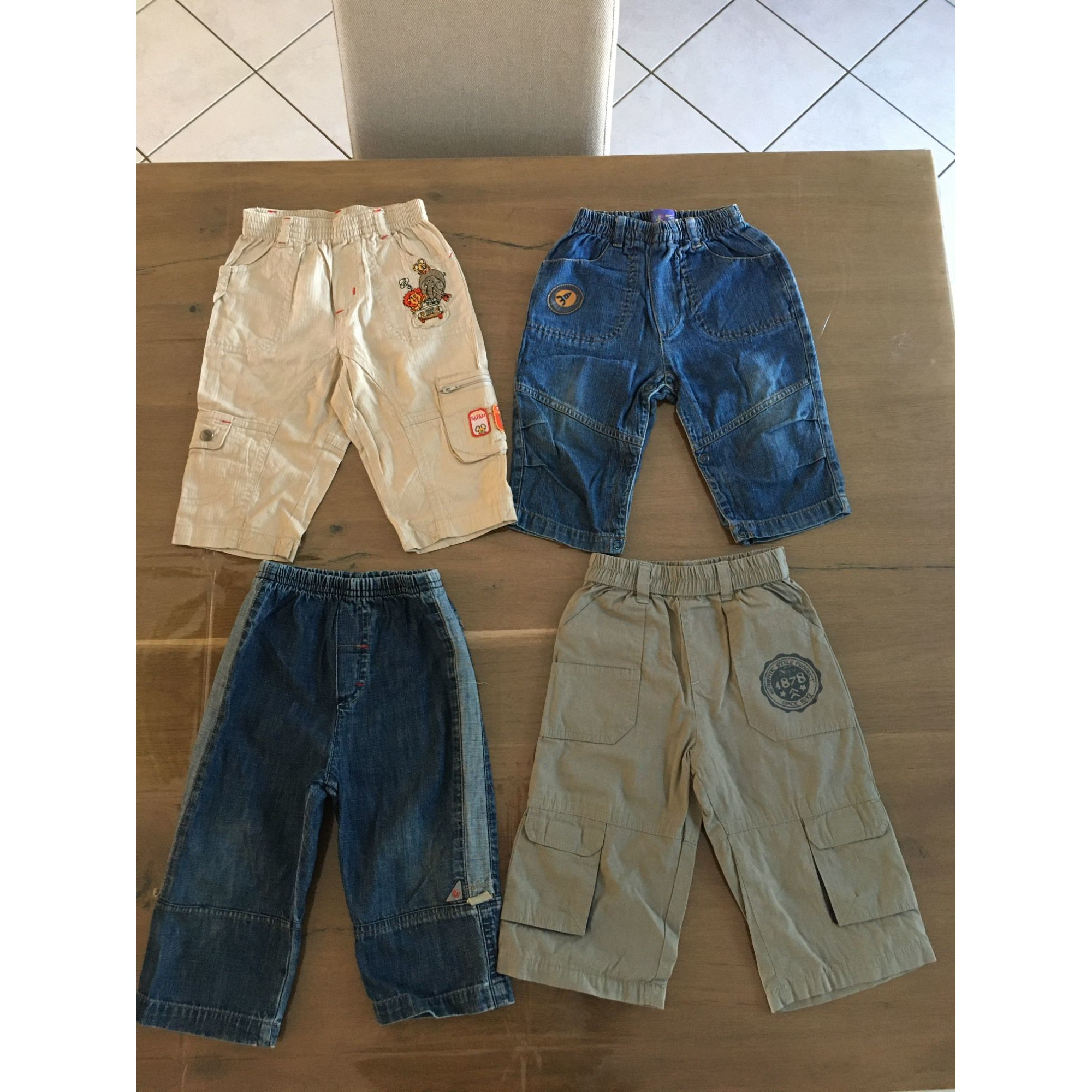 Pantalon TISSAIA Multicouleur