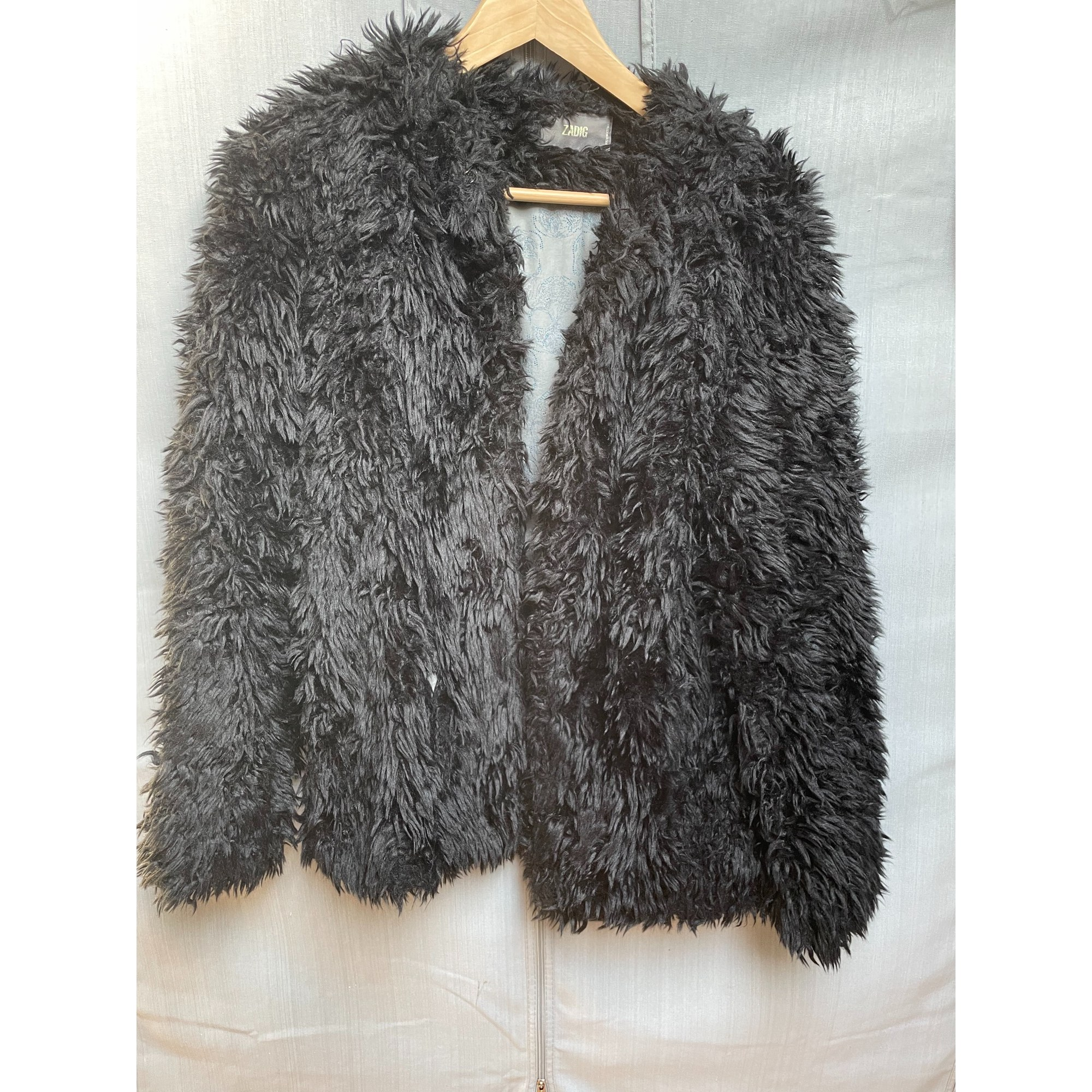 Blouson, veste en fourrure ZADIG & VOLTAIRE Noir