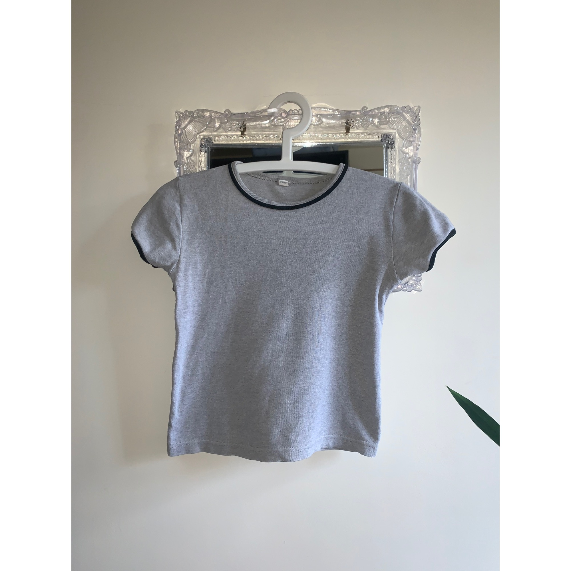 Top, Tee-shirt VERTBAUDET Gris, anthracite