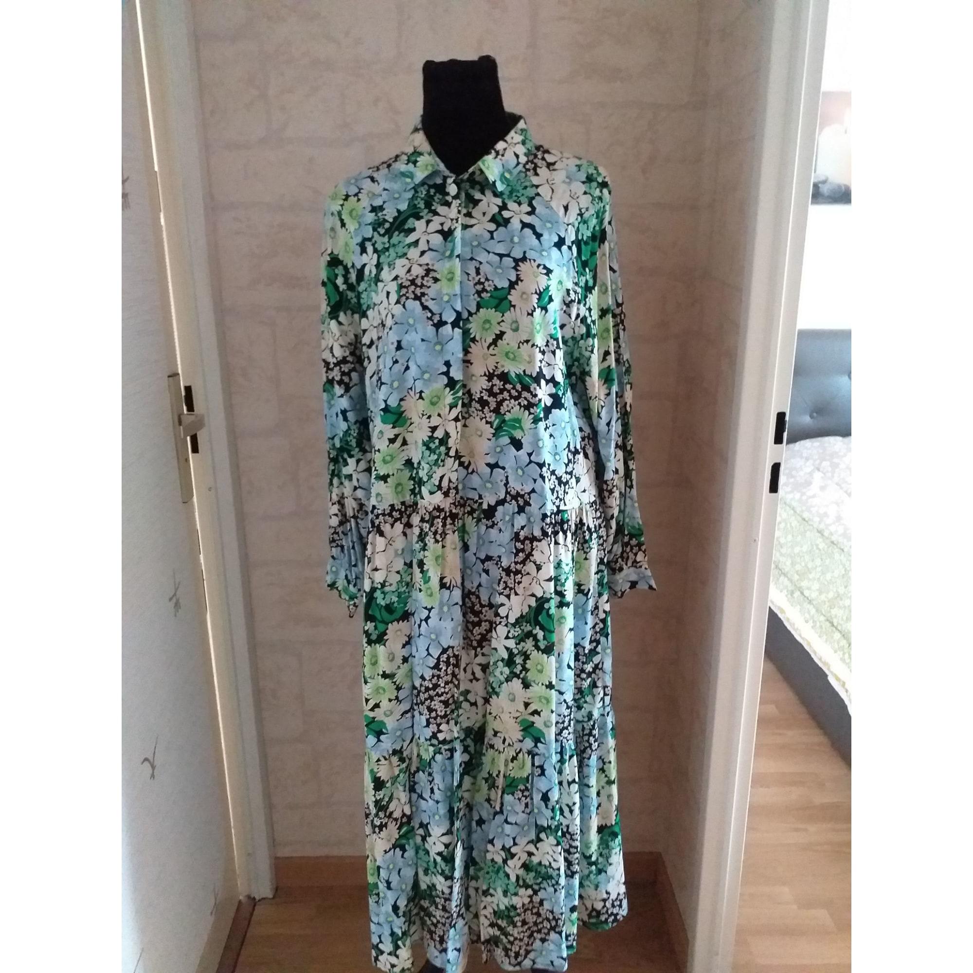 Robe longue H&M Multicouleur