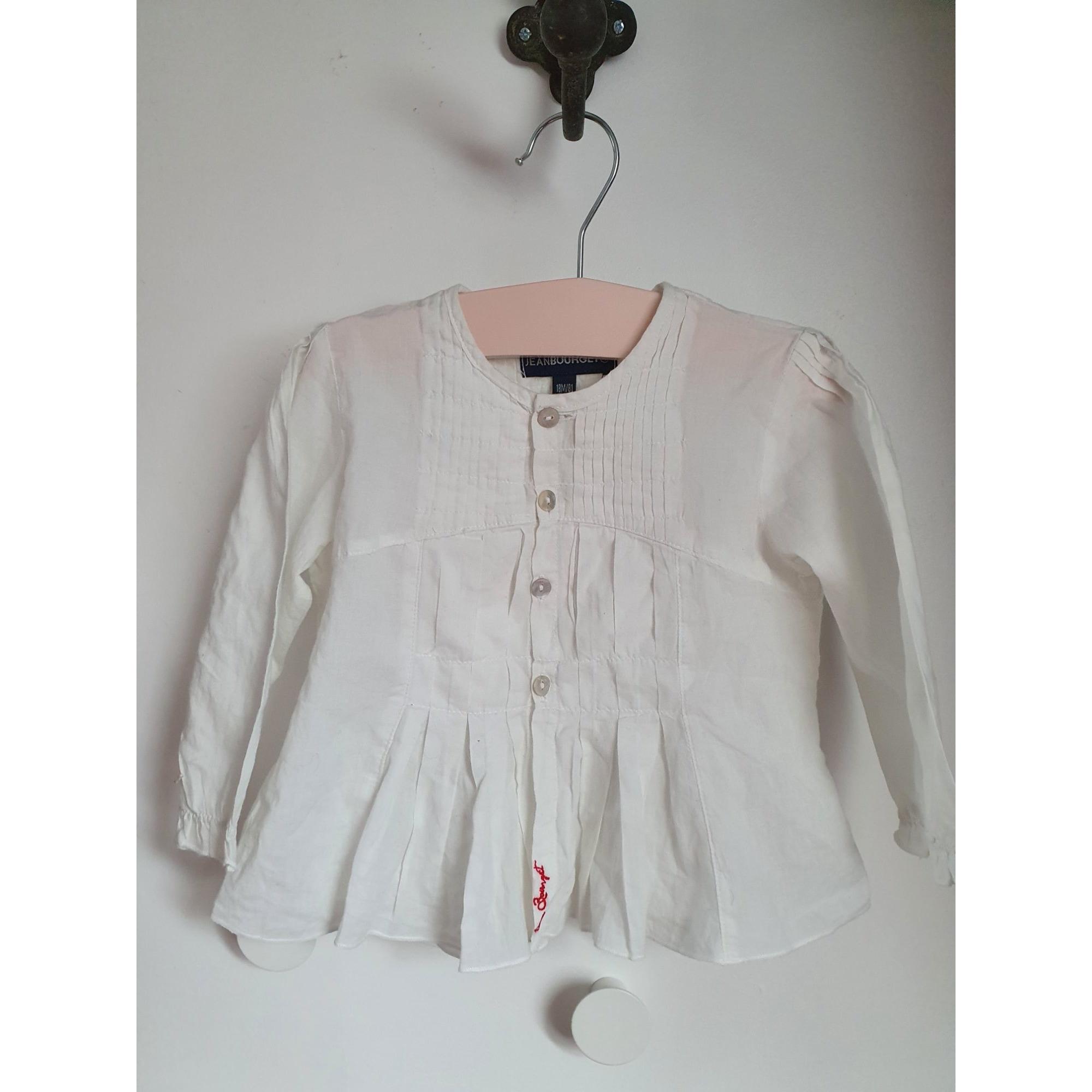 Chemisier, chemisette JEAN BOURGET Blanc, blanc cassé, écru