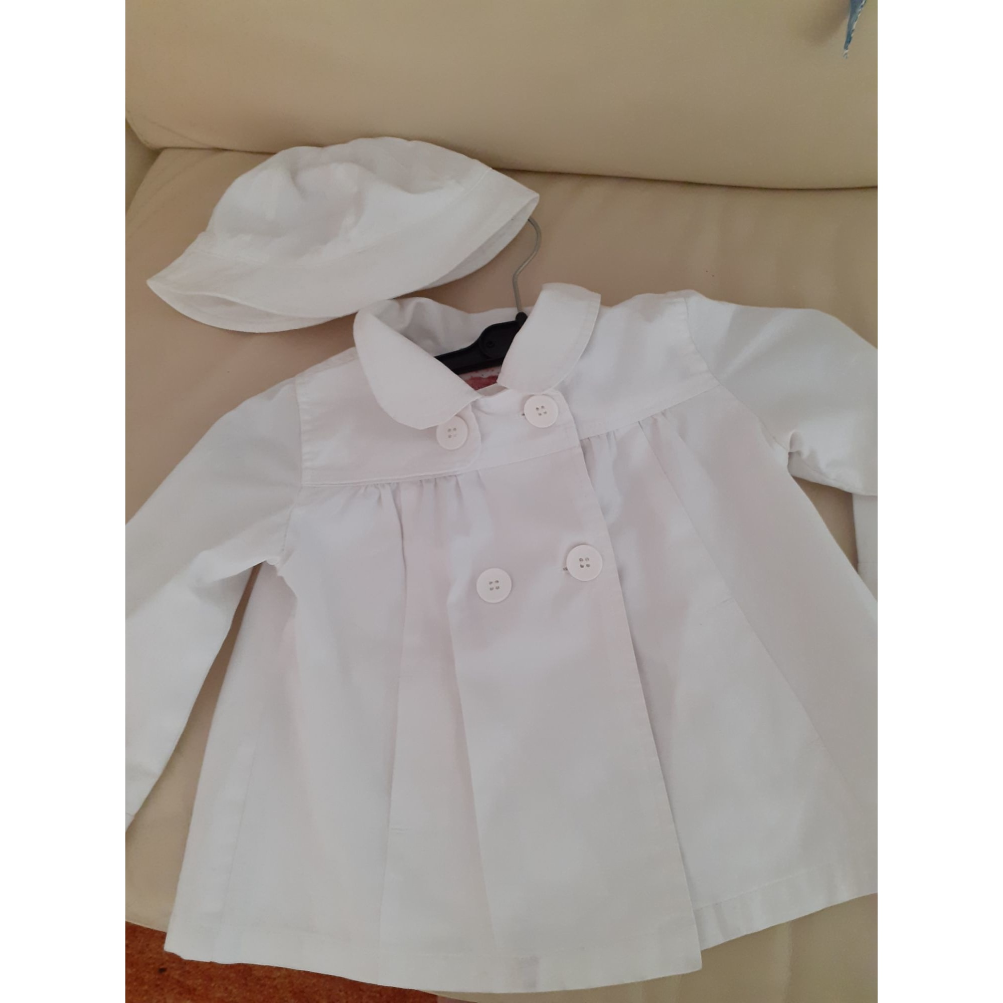 Manteau BOUT'CHOU Blanc, blanc cassé, écru