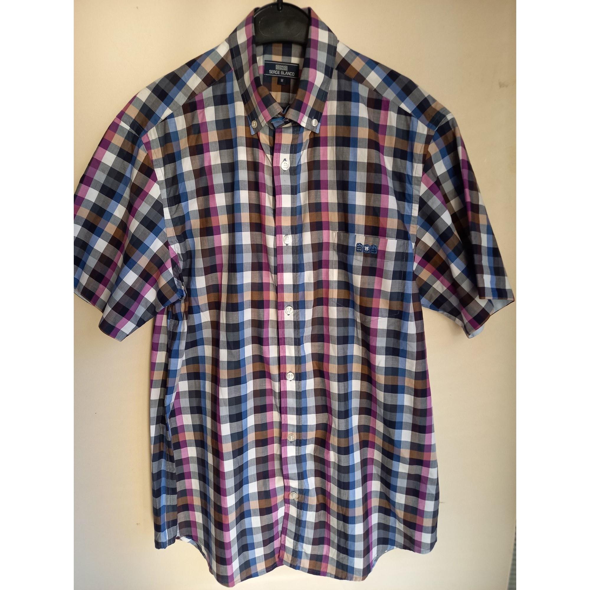Short-sleeved Shirt SERGE BLANCO Multicolor