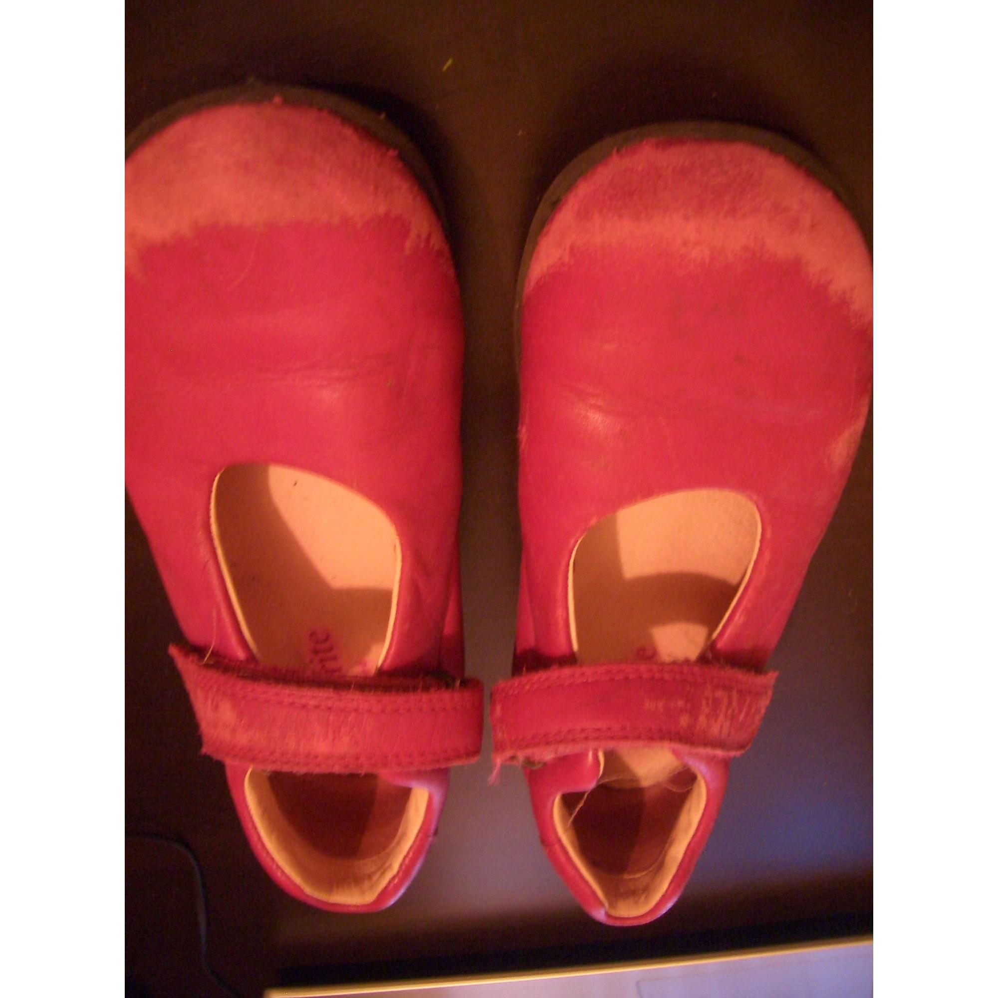 Chaussures à scratch START RITE Rose, fuschia, vieux rose