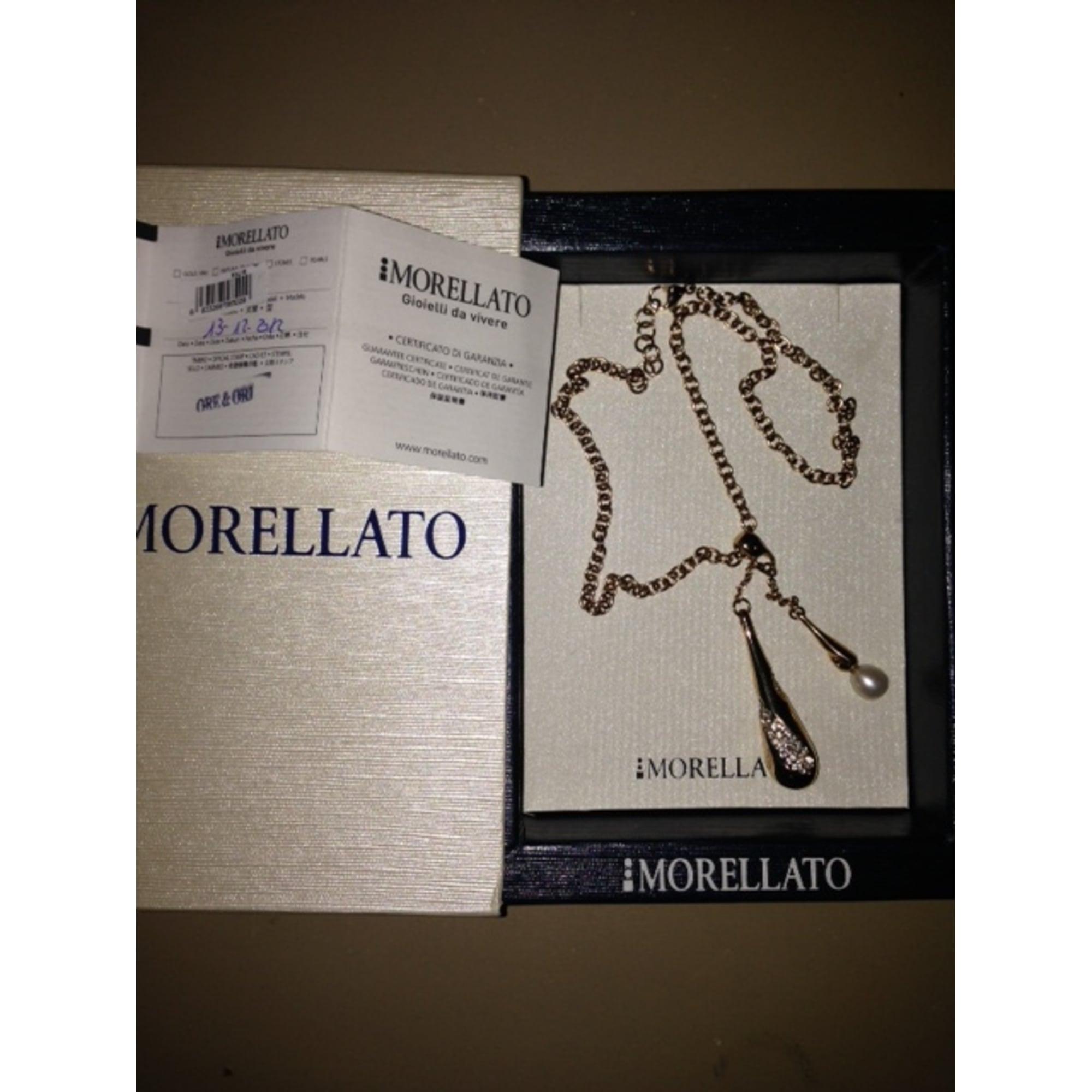 Pendentif, collier pendentif MORELLATO Doré, bronze, cuivre