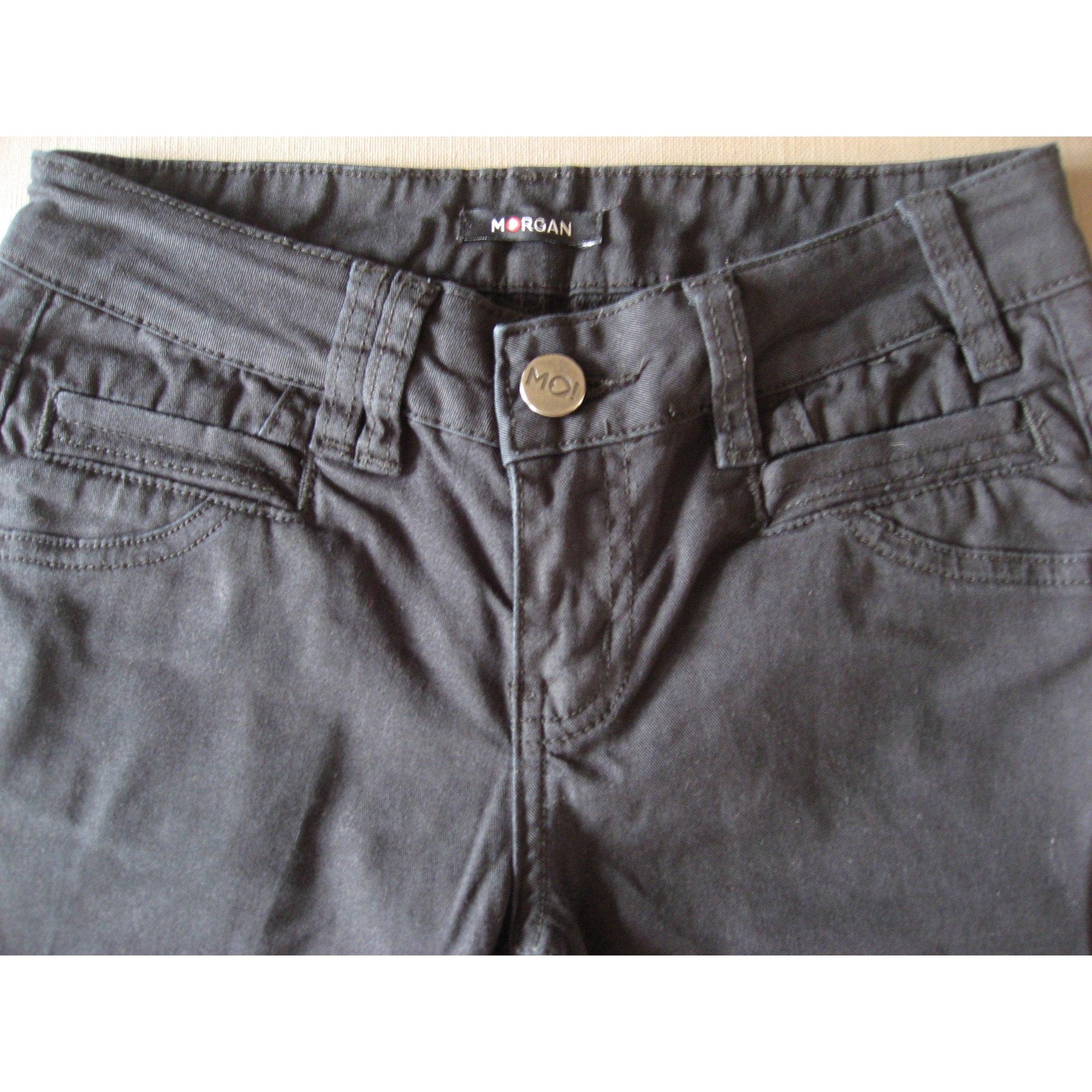 Jeans slim MORGAN Noir