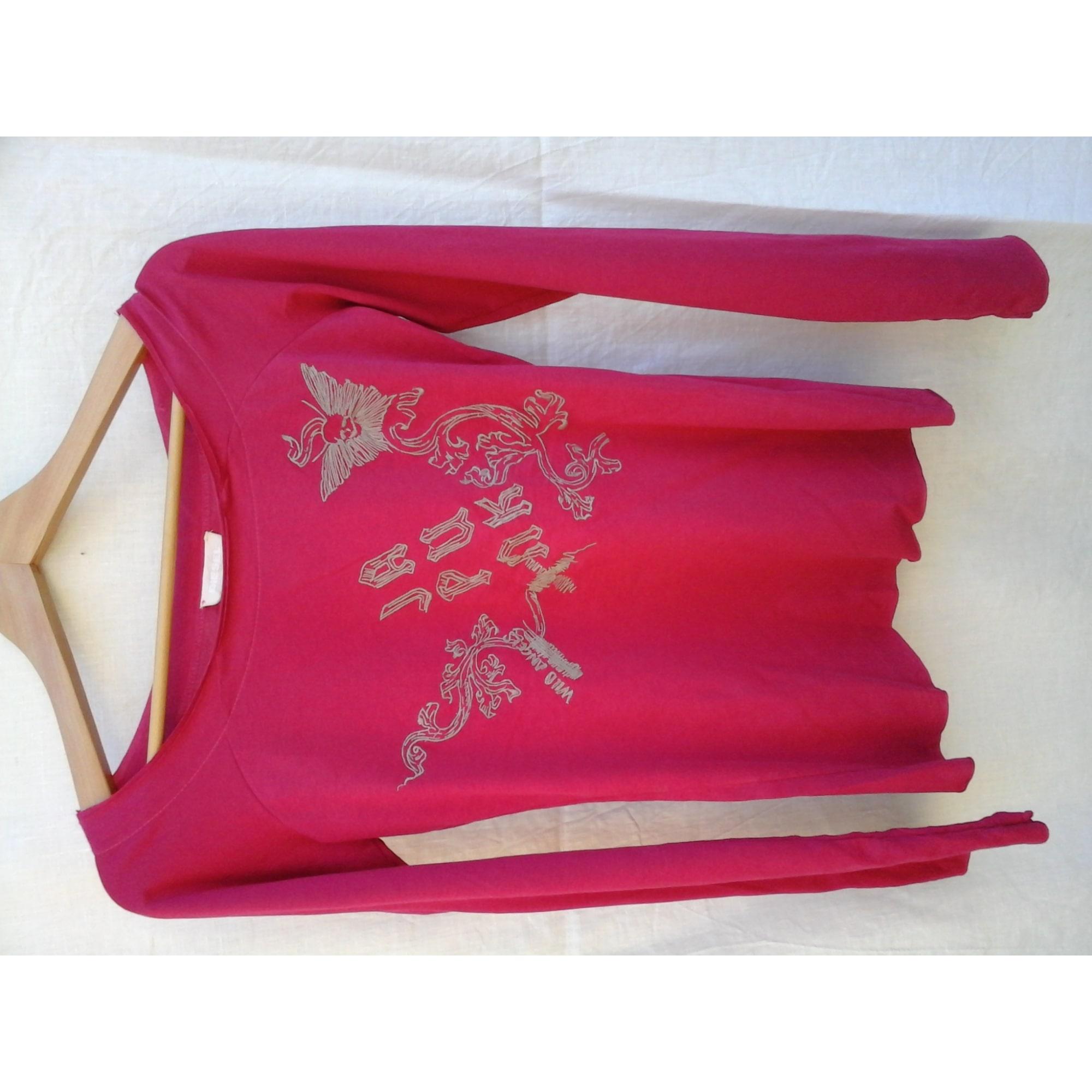 Top, tee-shirt DIESEL Rose, fuschia, vieux rose