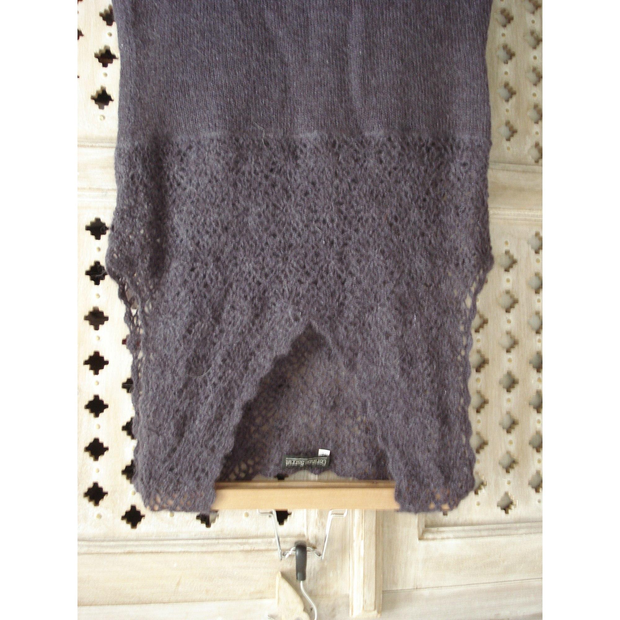 Robe mi-longue CACHAREL Violet, mauve, lavande